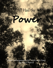 All Hail the Power: Hymn Arrangements for Violin and Piano Violin Part cover image