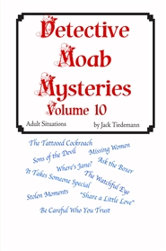 Detective Moab Mysteries Vol 10 cover image
