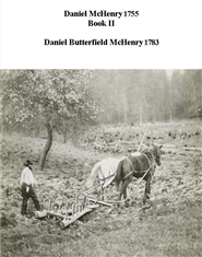 Daniel McHenry 1755 book II - Daniel Butterfield McHenry 1783 cover image