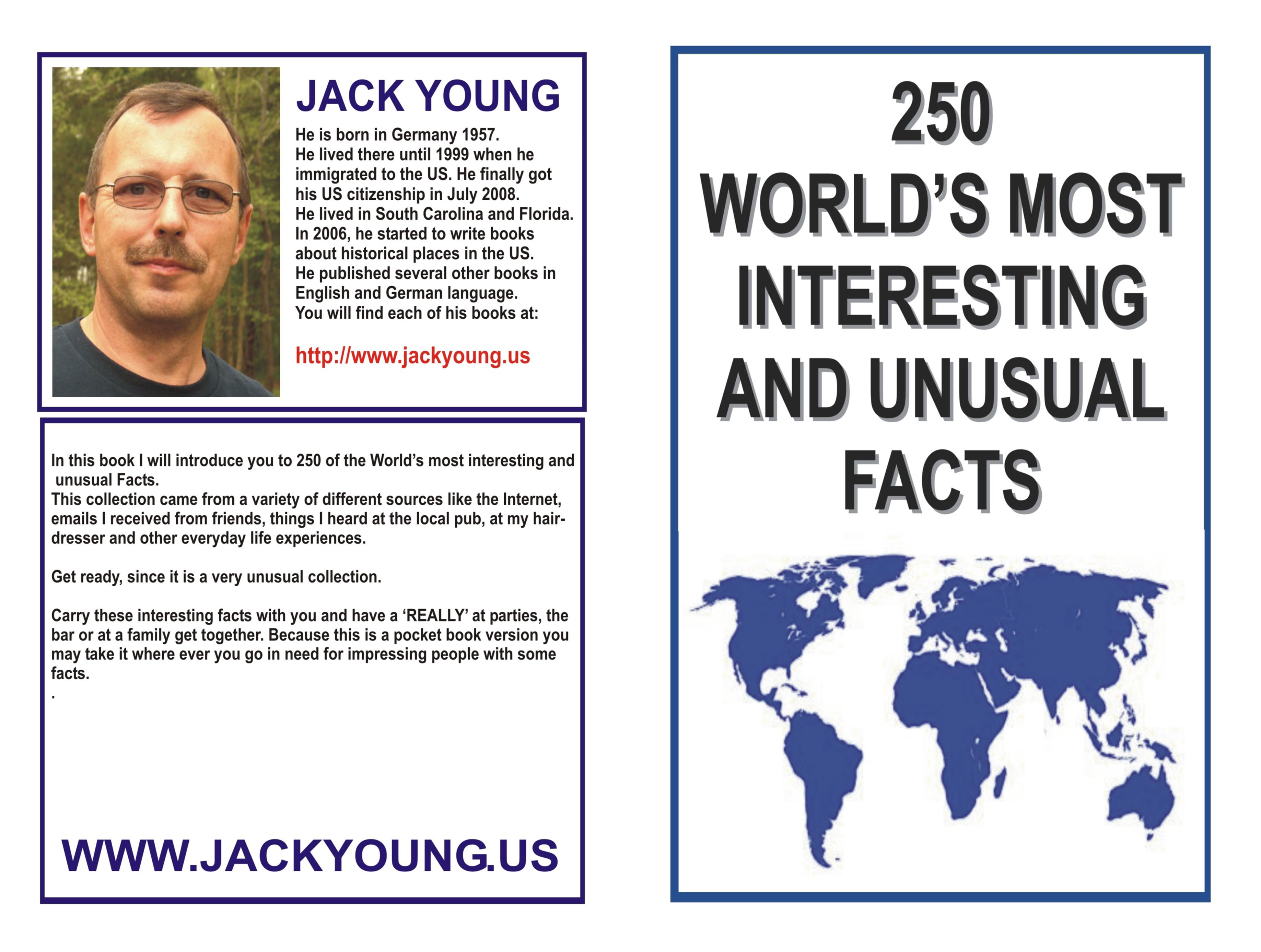 250 WORLD'S MOST INTERESTING AND UNUSUAL FACTS cover image