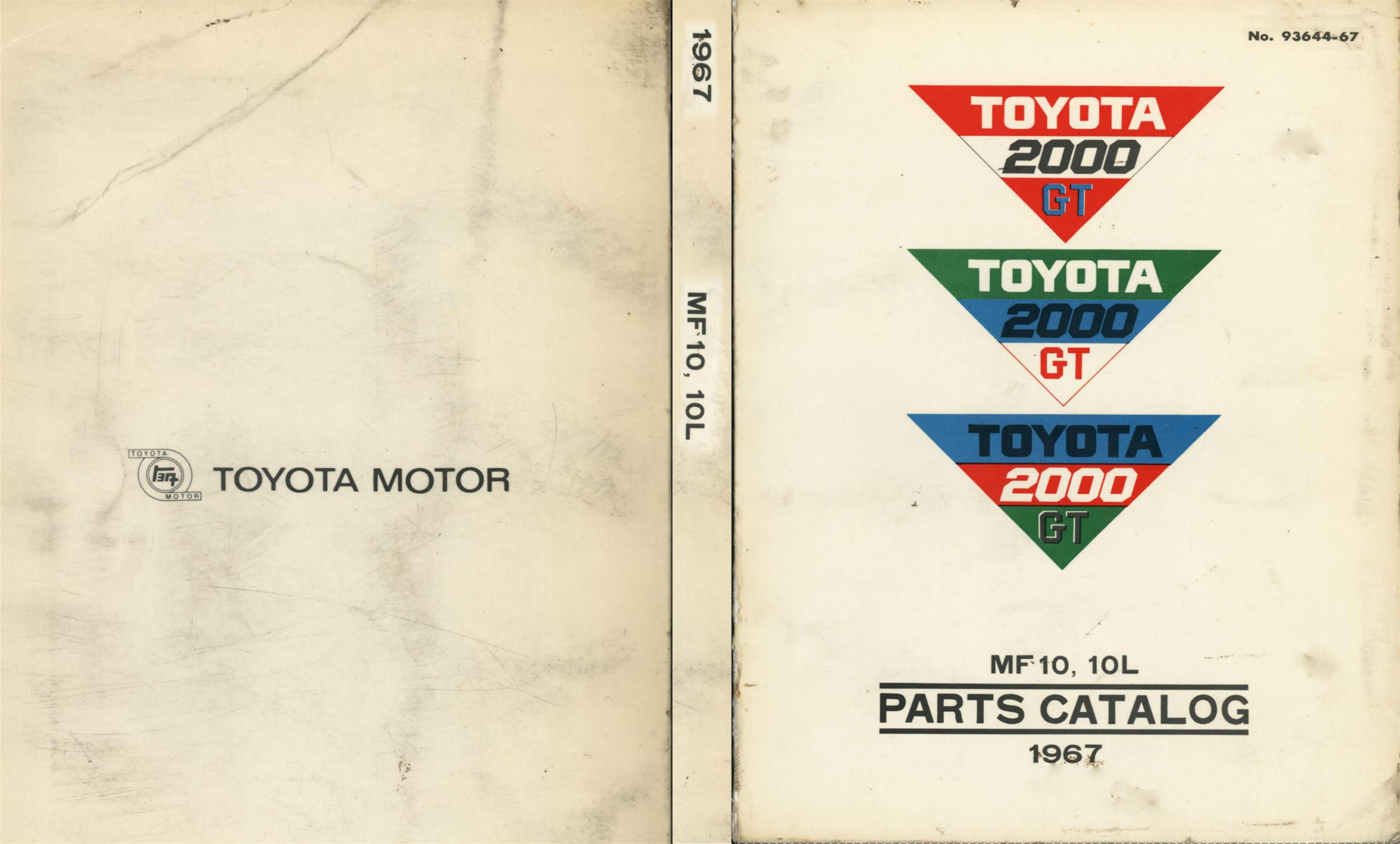 Toyota 2000gt parts manual by clint weis 3500 thebookpatch toyota 2000gt parts manual cover image fandeluxe Choice Image