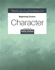 Character Italic - Beg. Cursive cover image