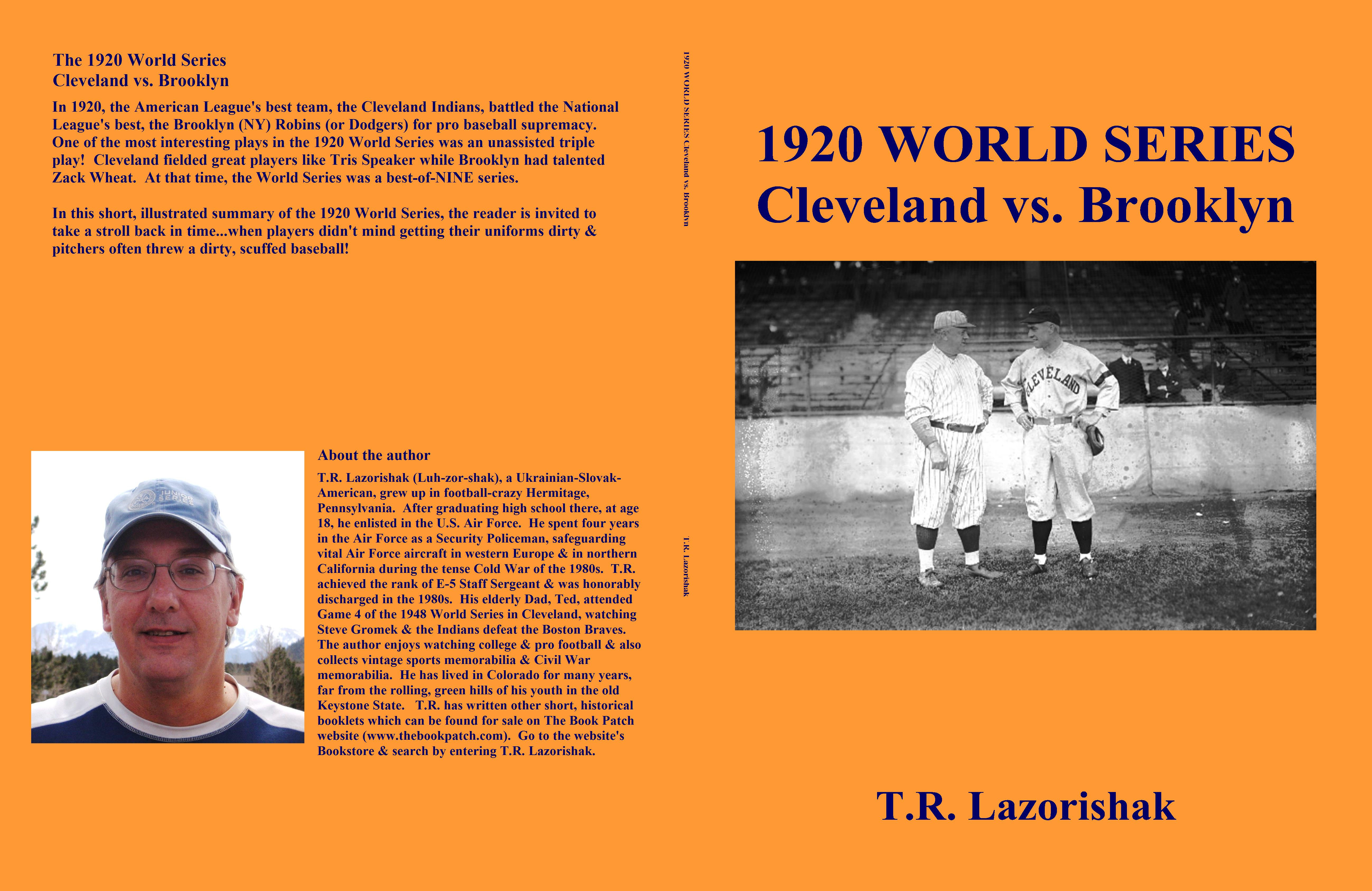 1920 WORLD SERIES Cleveland vs. Brooklyn cover image