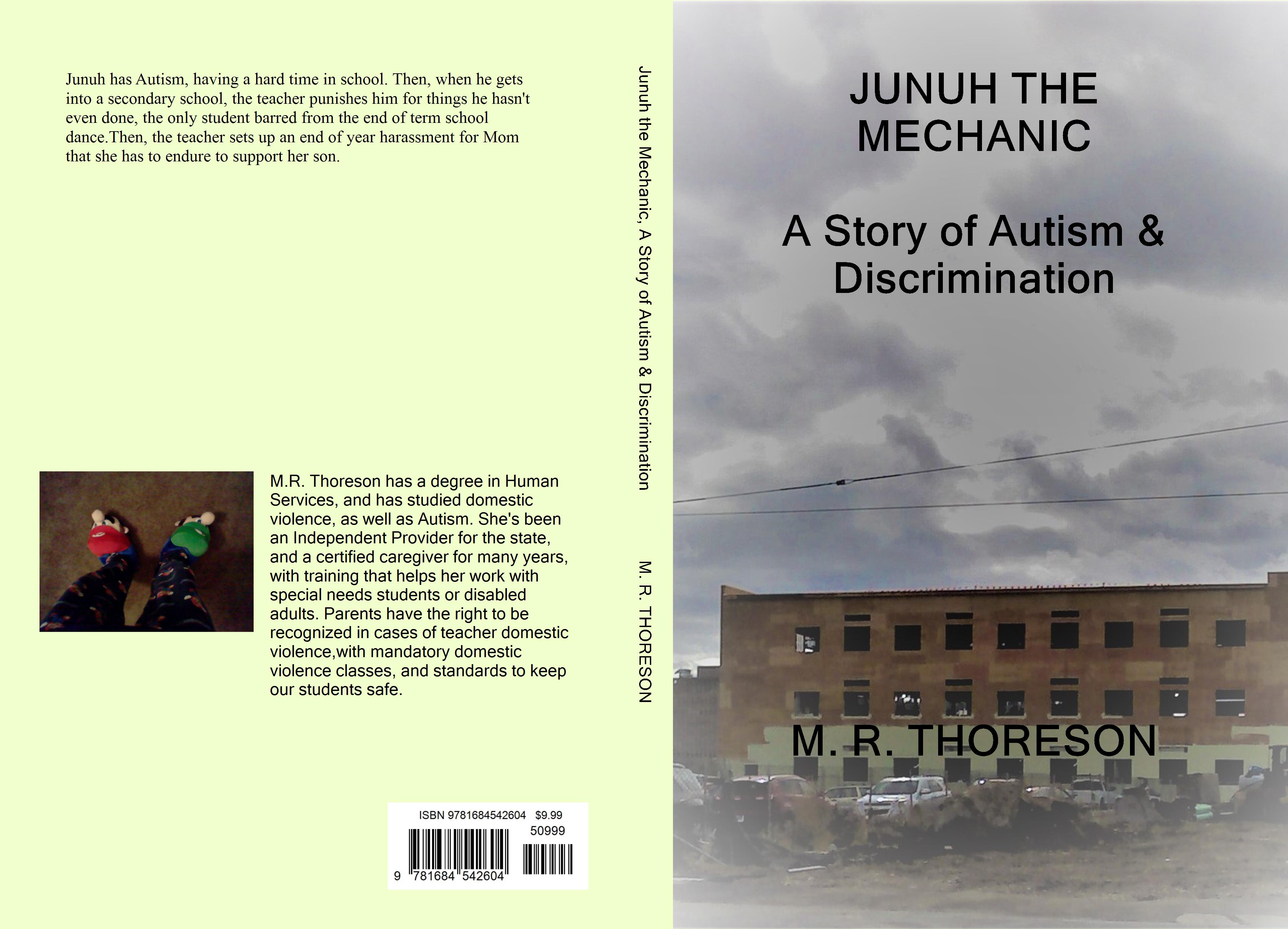 JUNUH THE MECHANIC A Story of Autism & Discrimination cover image