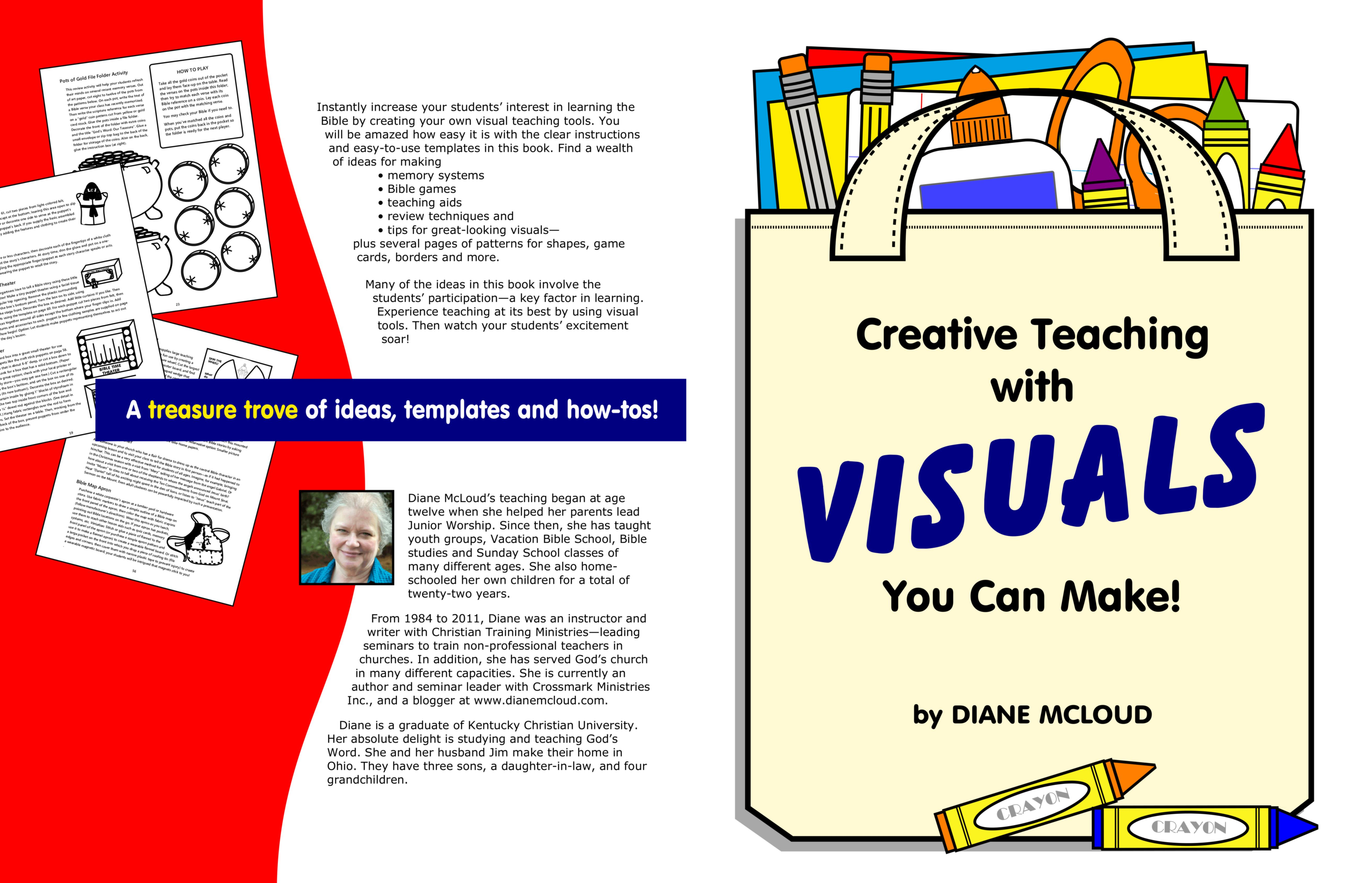 Creative Teaching With Visuals You Can Make by Diane McLoud : $15.00 ...
