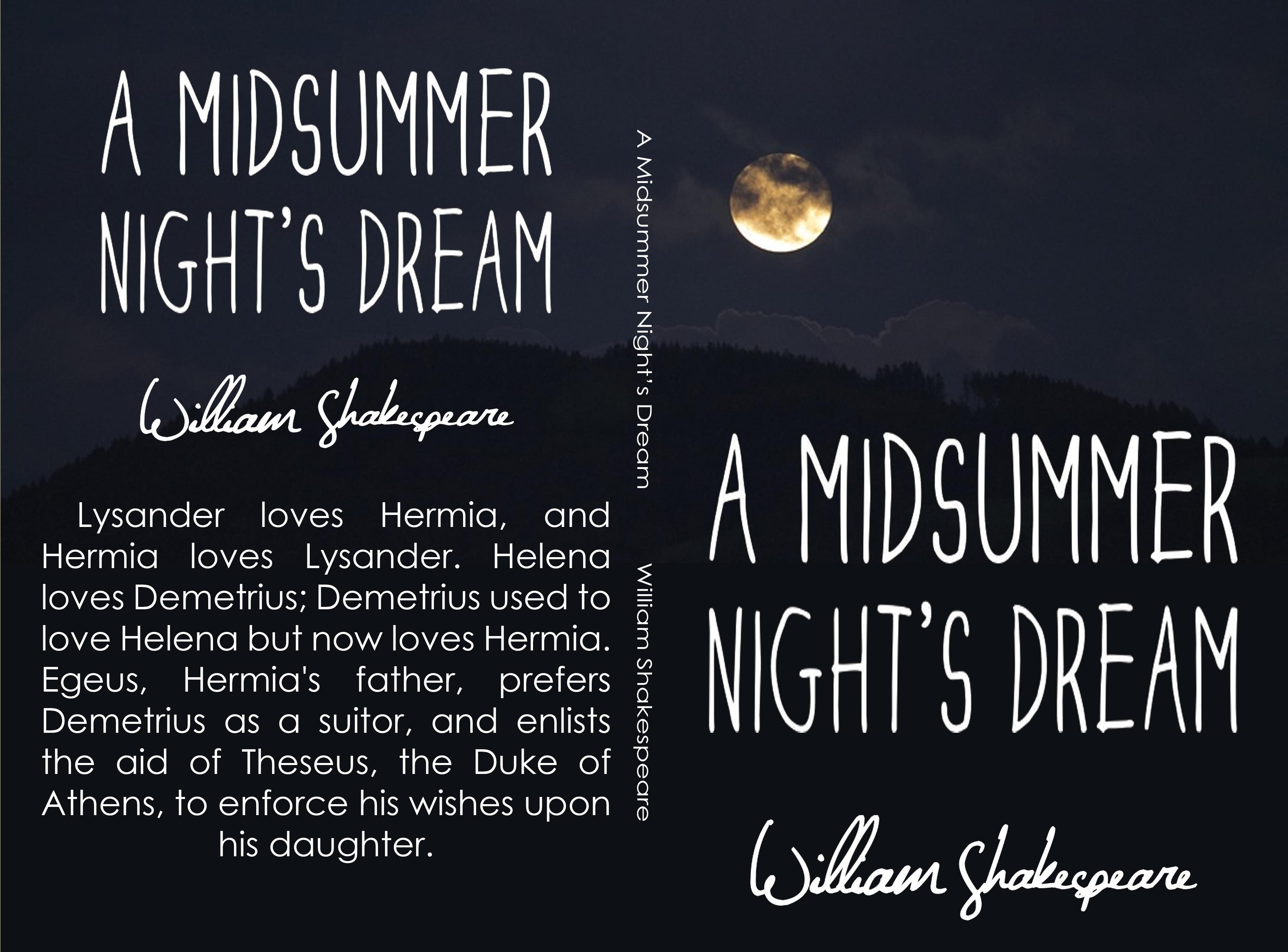 themes in a midsummers nightdream A midsummer night's dream read the sparknote.