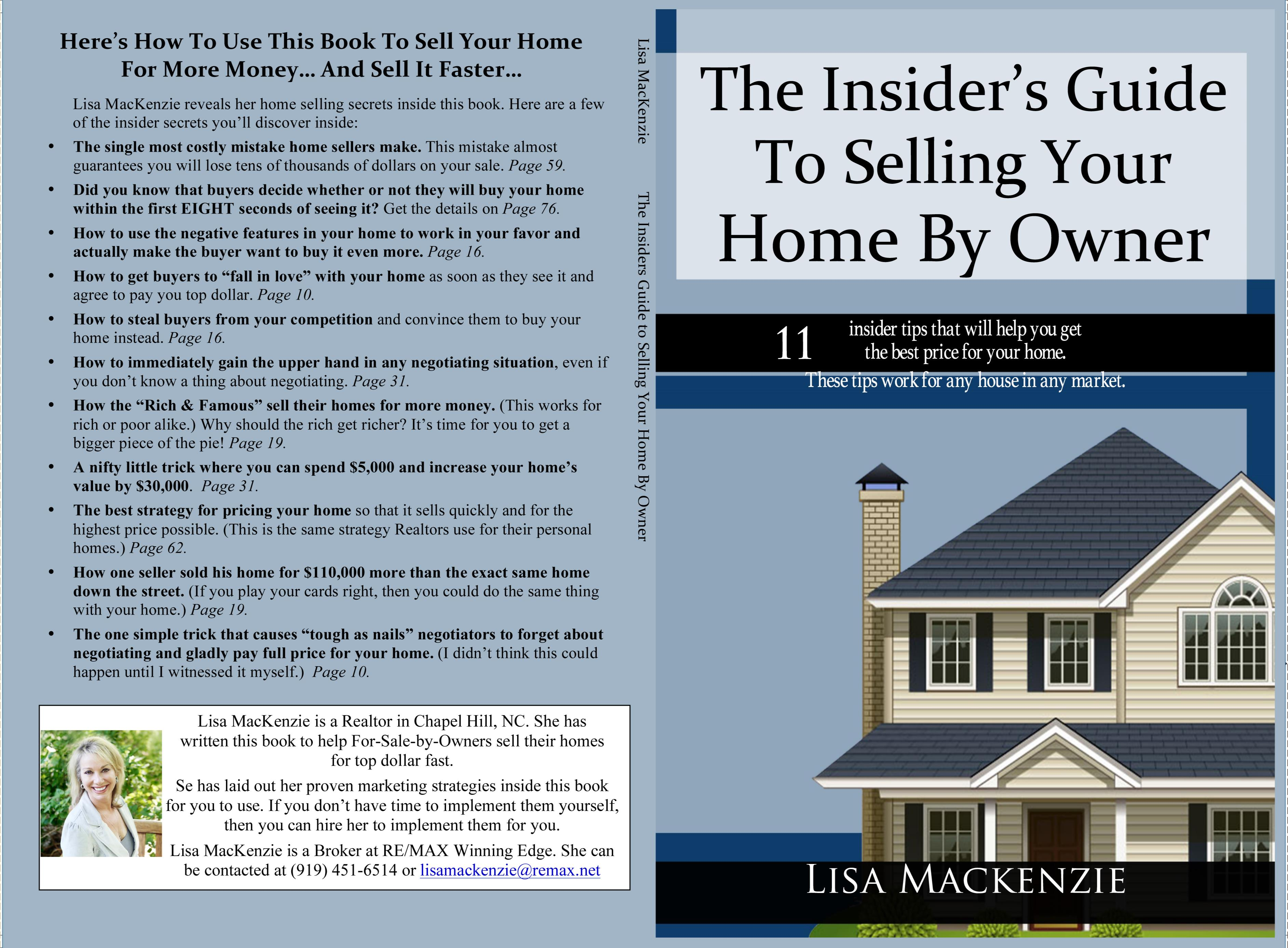 The Insider 39 S Guide To Selling Your Home By Owner By Lisa