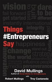 Things Entrepreneurs Say cover image