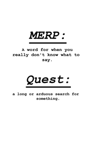Merp Quest: Utsan Uprising 1st edition cover image
