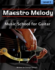 Maestro Melody Music School for Guitar Level 2 cover image