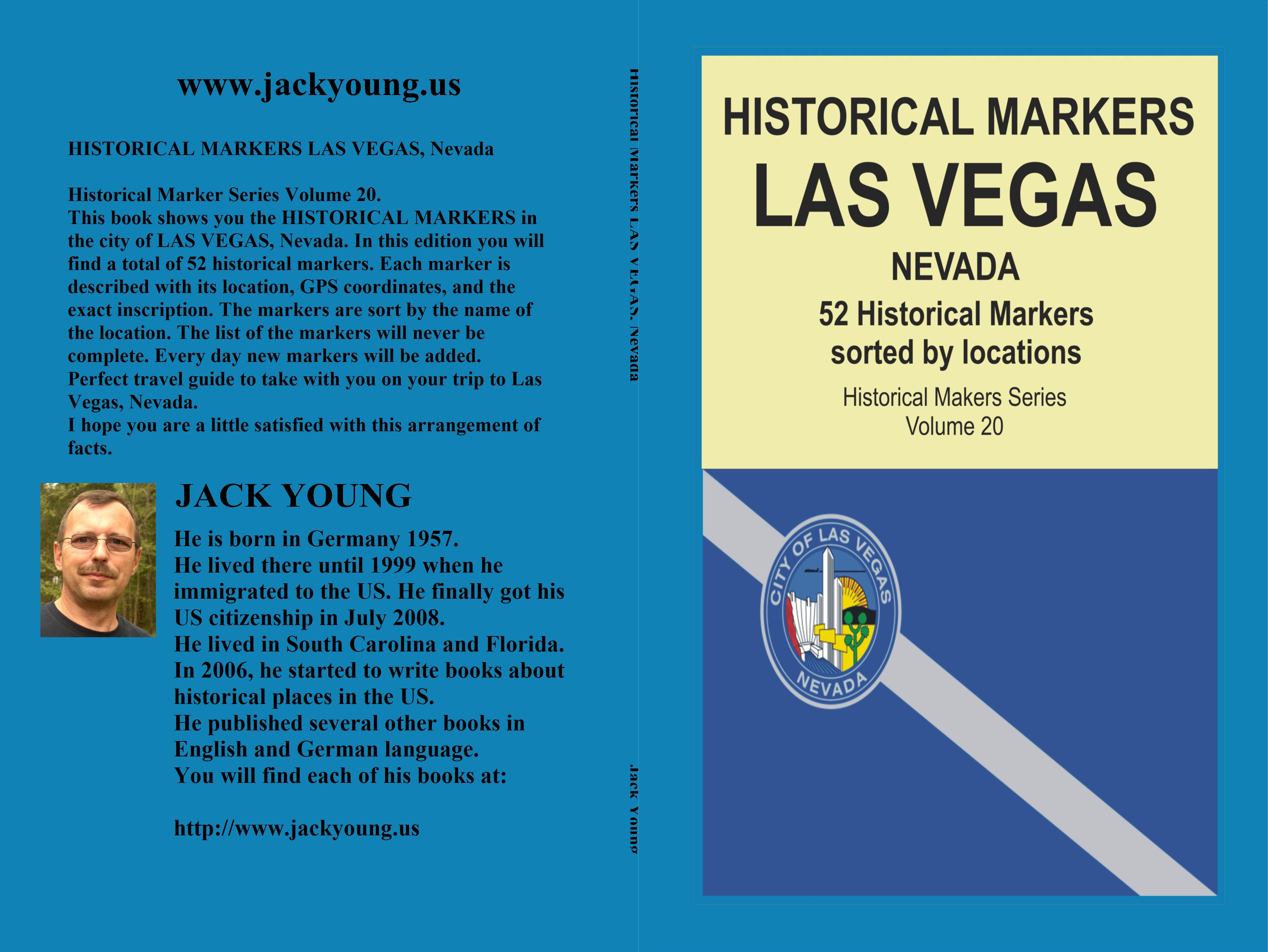 Historical Markers LAS VEGAS, Nevada cover image