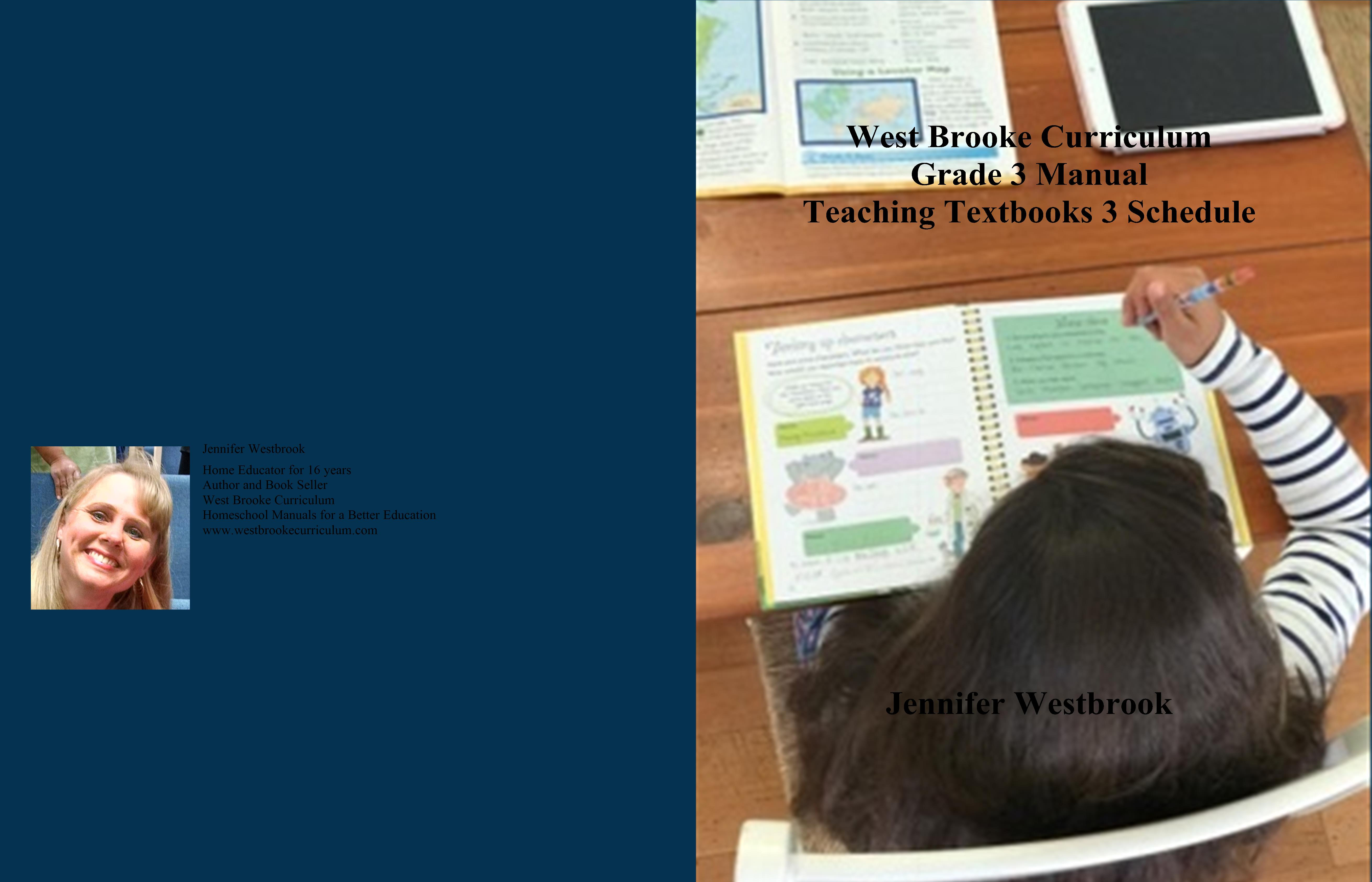 West Brooke Curriculum Grade 3 Manual Teaching Textbooks 3 Schedule cover image