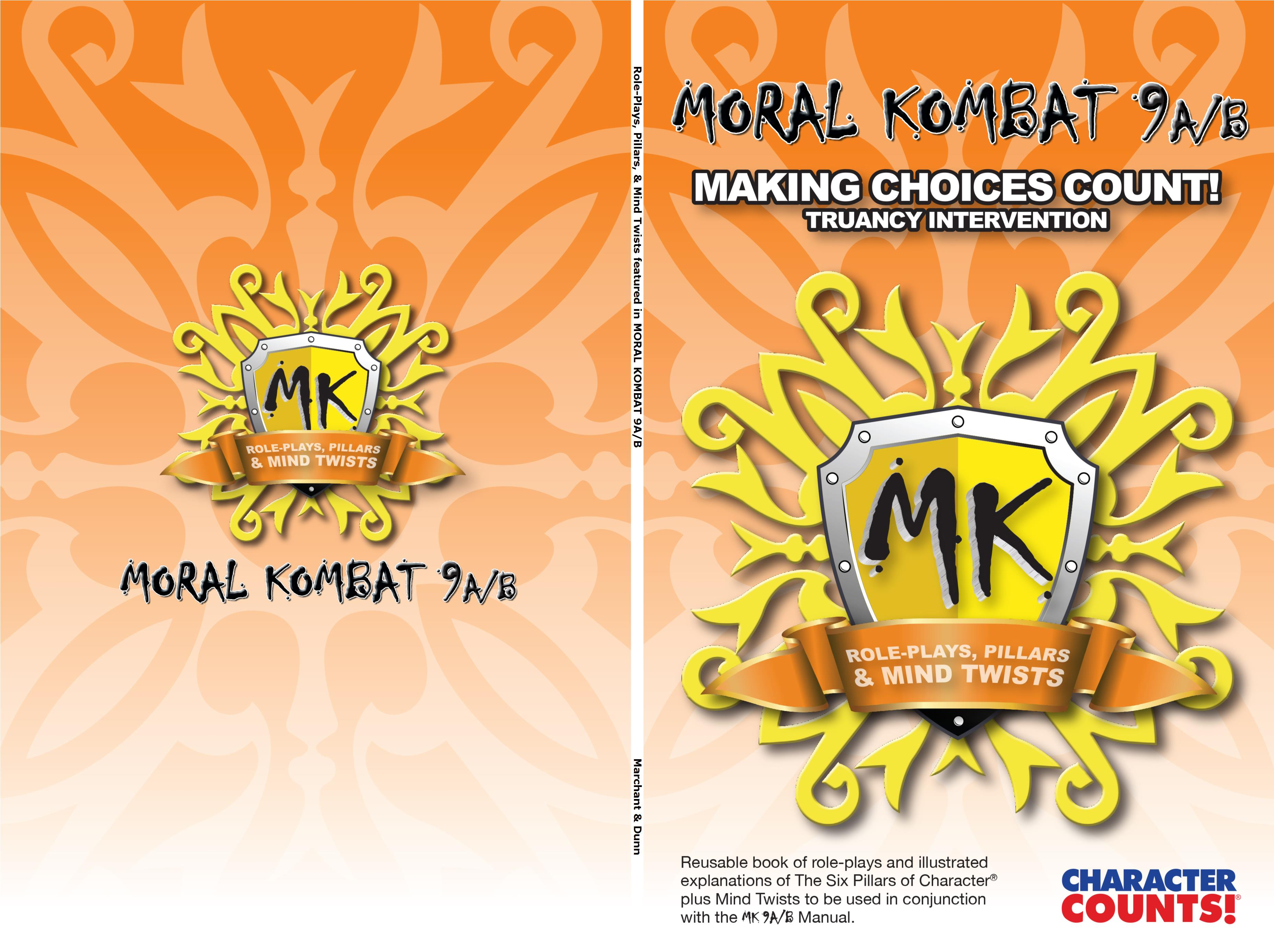 Role-Plays, Pillars, & Mind Twists featured in MORAL KOMBAT 9A/B cover image