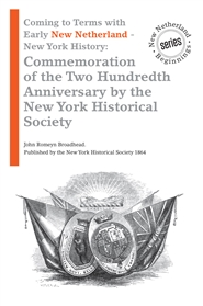 Commemoration of the Two Hundredth Anniversary by the New York Historical Society cover image