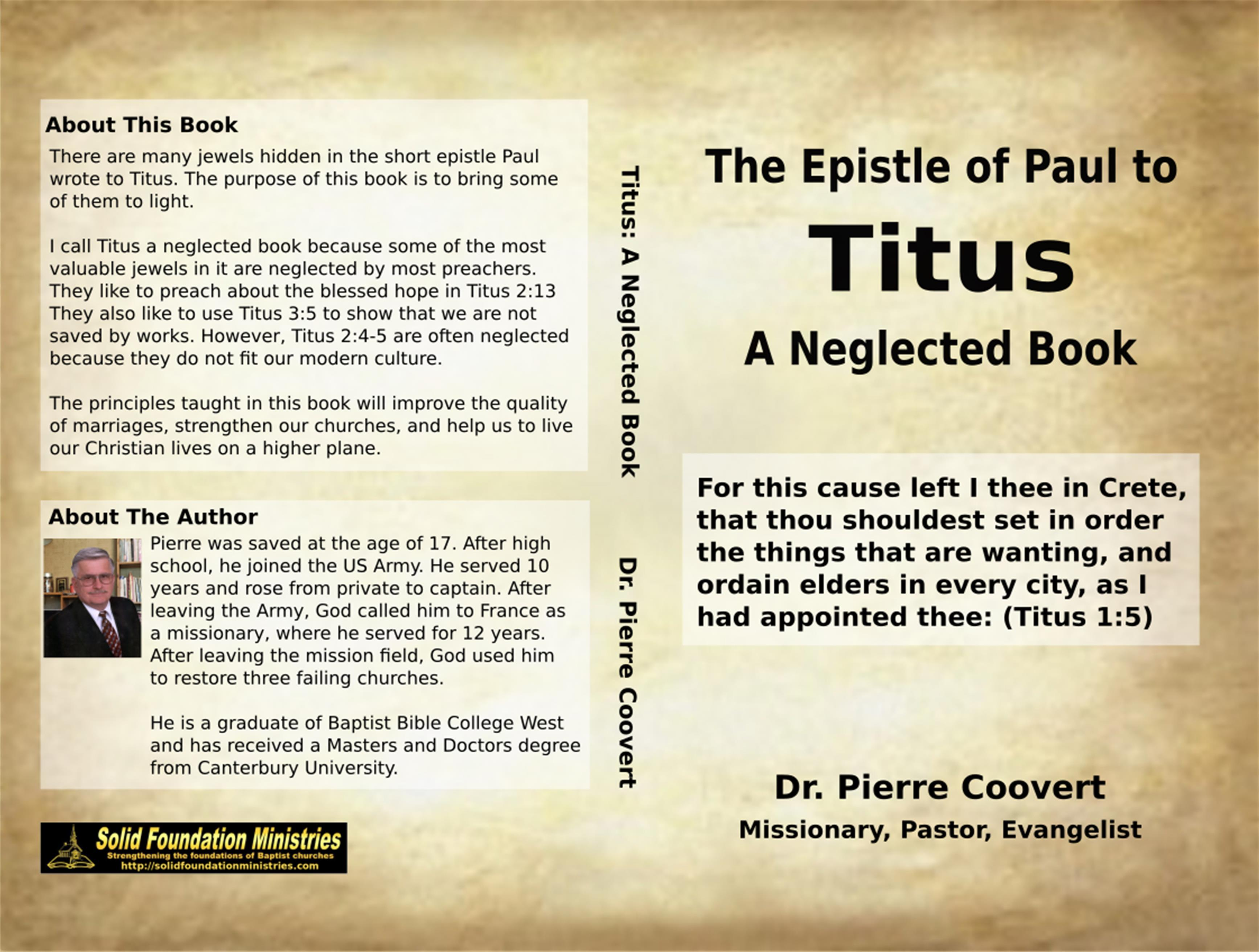 The Epistle of Paul to Titus cover image