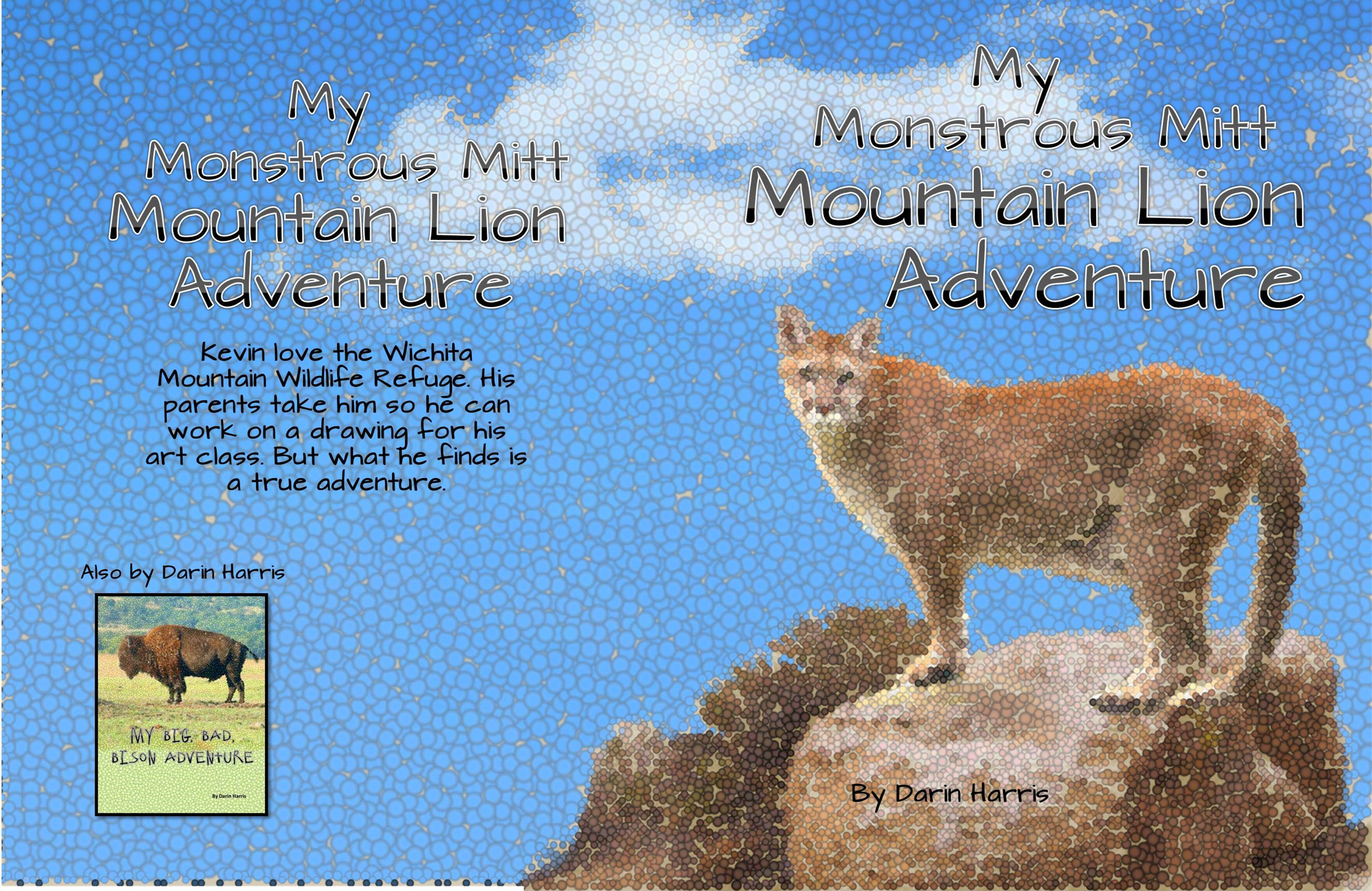 My Monstrous Mitt Mountain Lion Adventure cover image