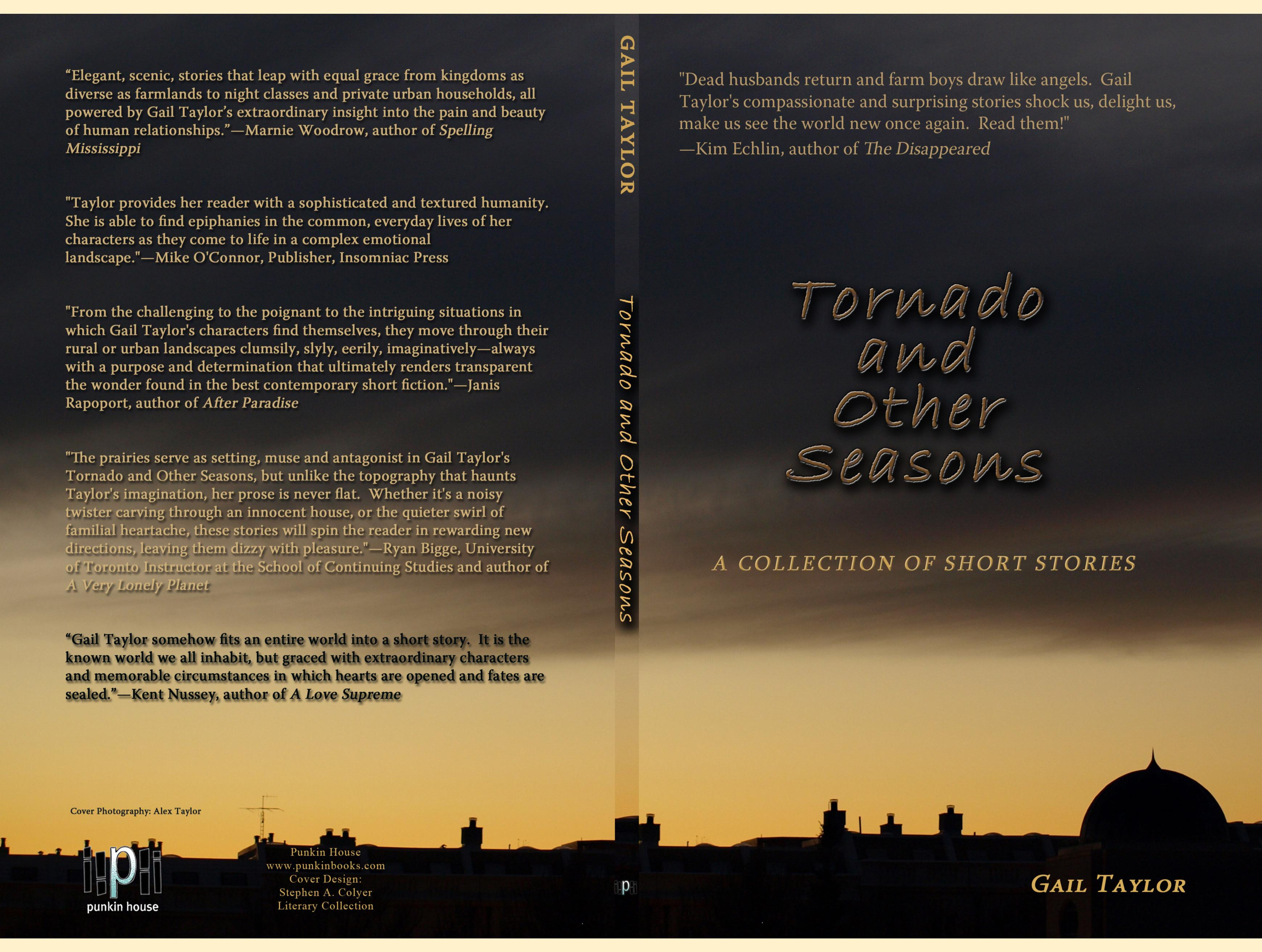 Tornado and Other Seasons: A Collection of Short Stories cover image