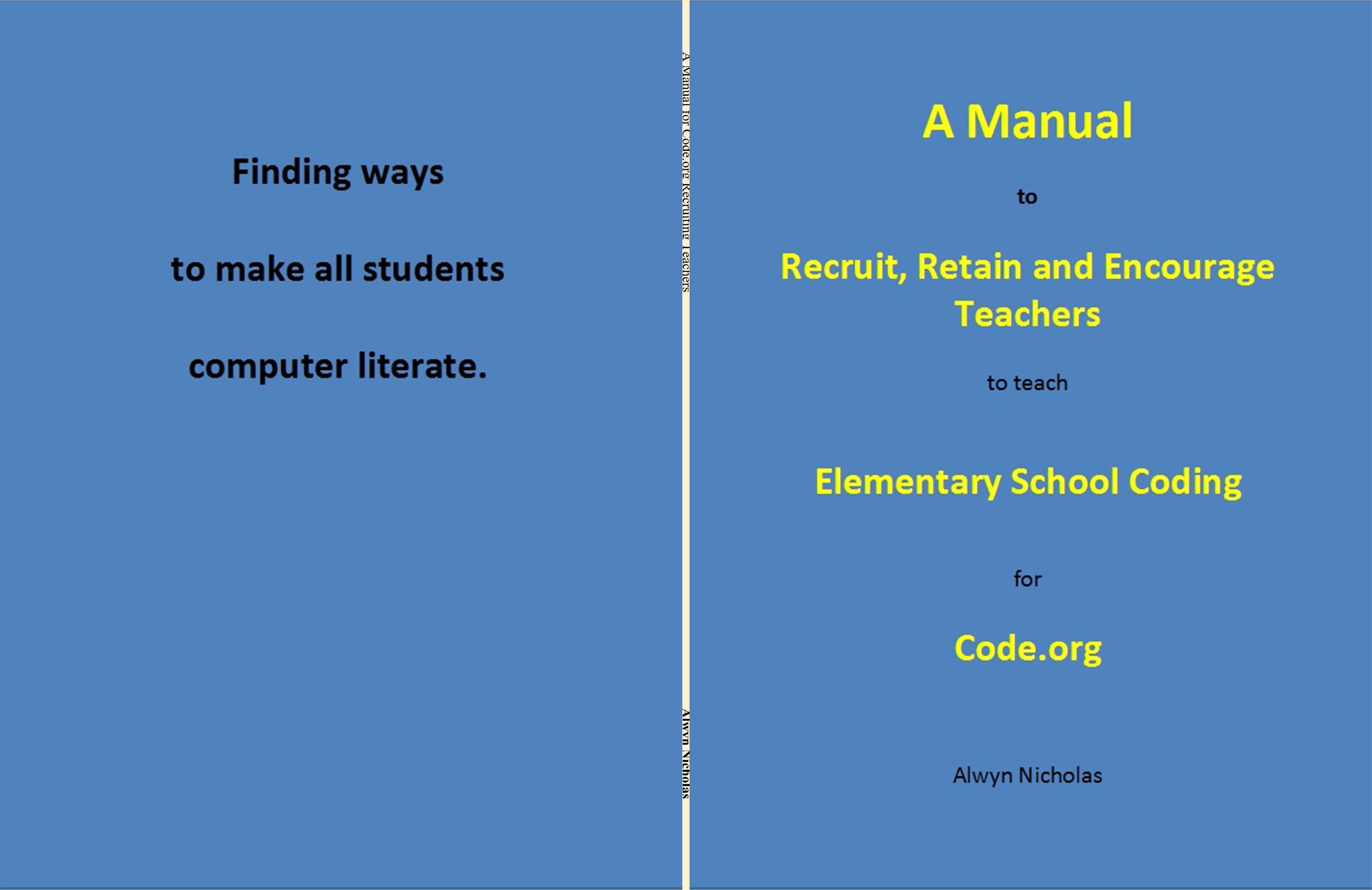 A Manual for Code.org Recruiting Teachers cover image