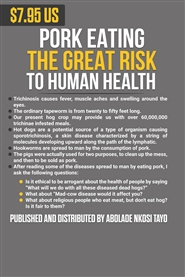 PORK EATING THE GREAT RISK TO HUMAN HEALTH NEW REVISED EXPANDED EDITION 2019 cover image