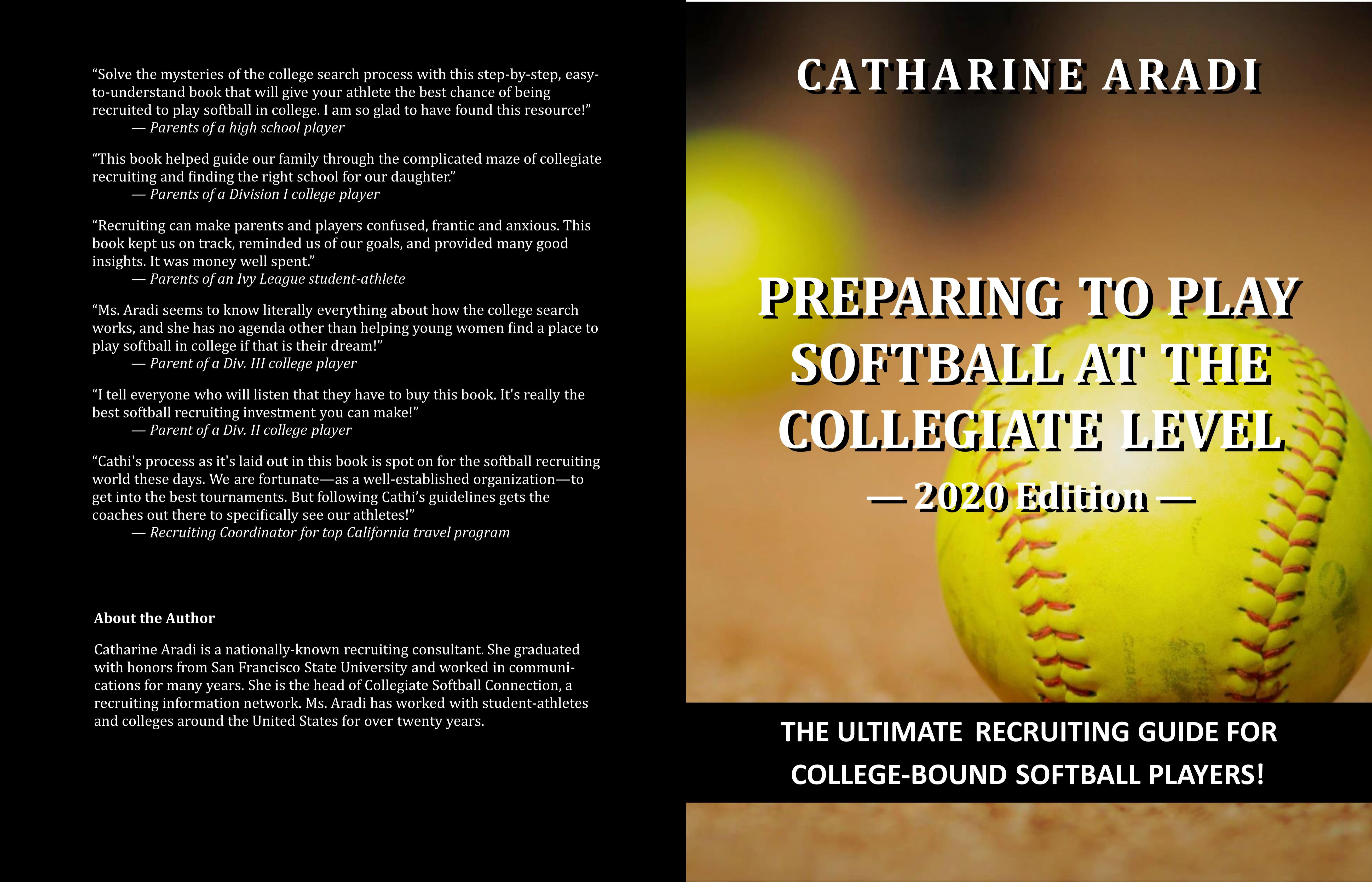 Preparing to Play Softball at the Collegiate Level — 2020 Edition cover image
