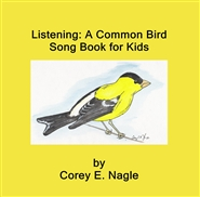 Listening: A Common Bird Song Book for Kids cover image