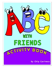 ABC with Friends Activity Book cover image
