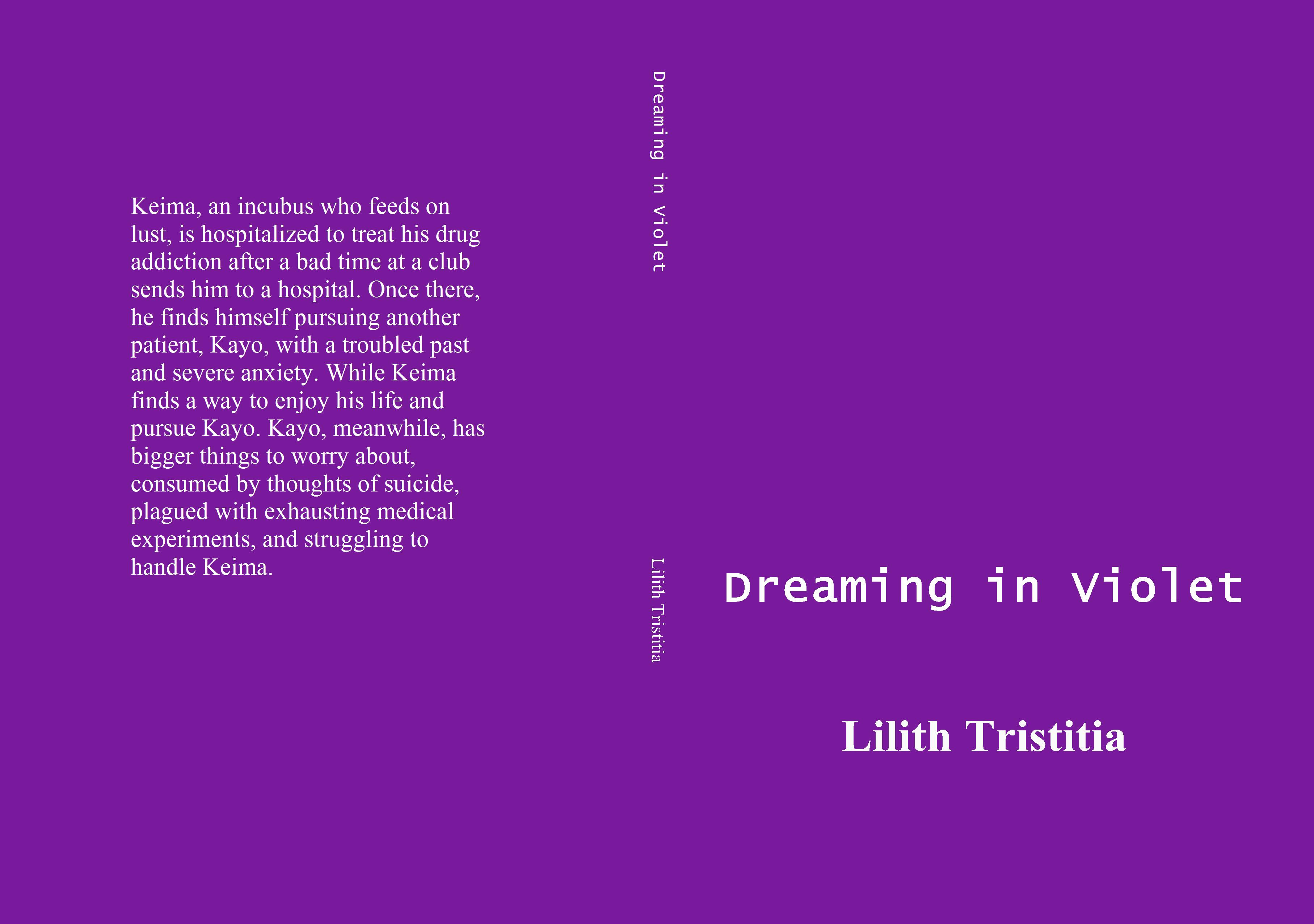 Dreaming in Violet cover image