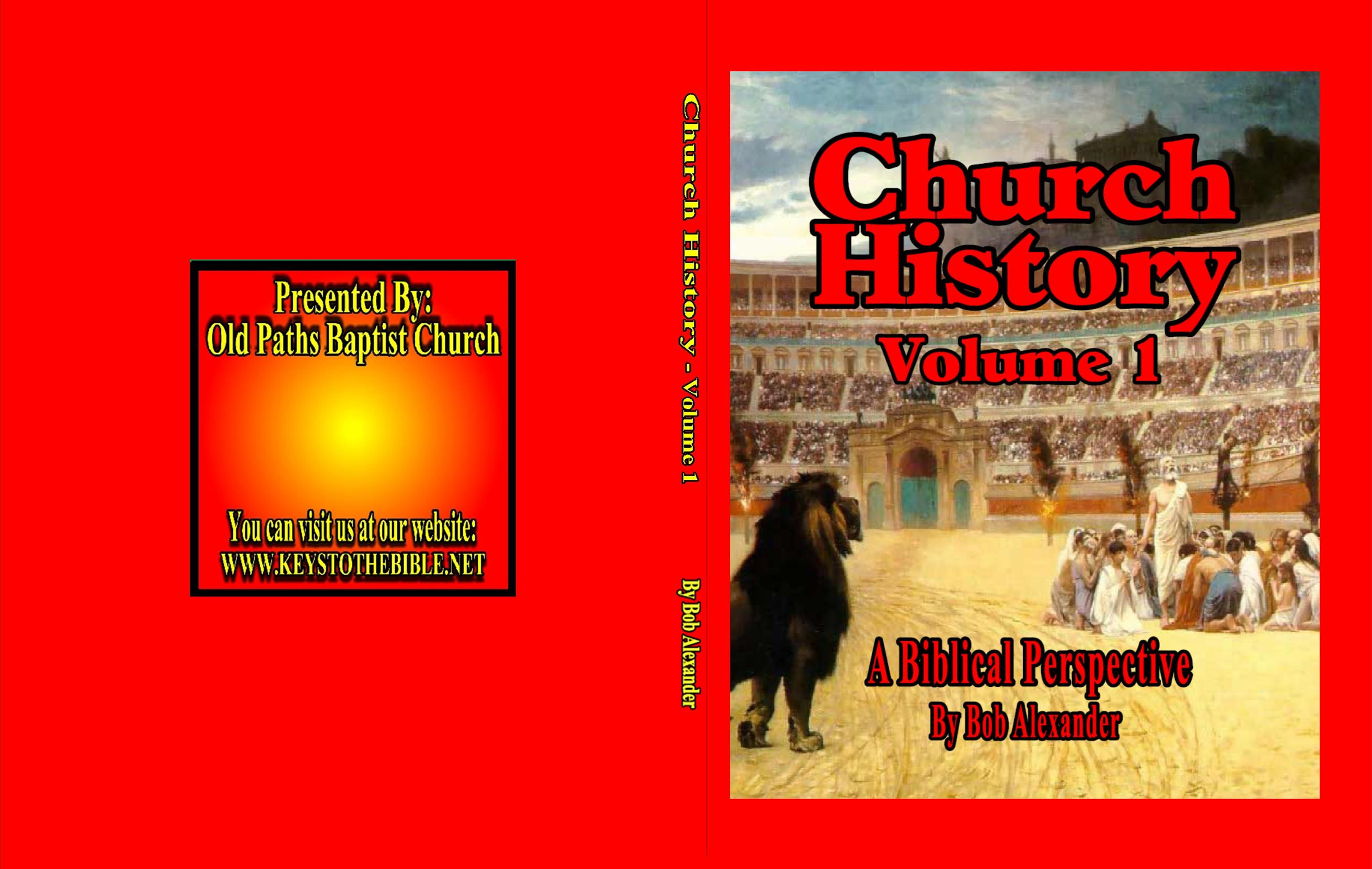 Church History - Volume 1 cover image