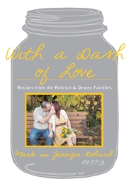 With a Dash of Love: Recipes from the Rohrich & Dewey Families cover image