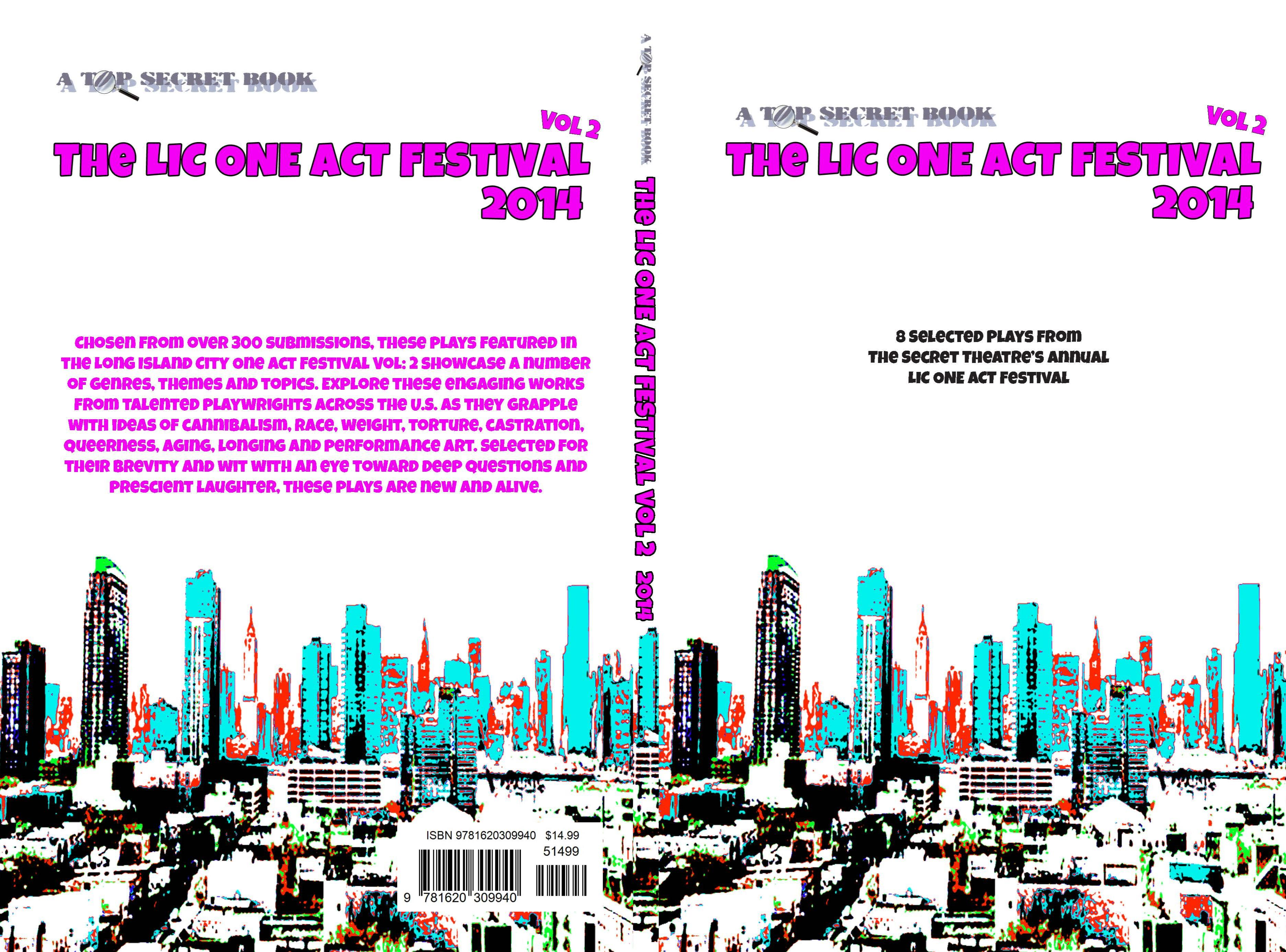 THE LIC ONE ACT PLAY FESTIVAL VOL. 2 2014 cover image