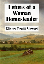 Letters of a Woman Homesteader cover image