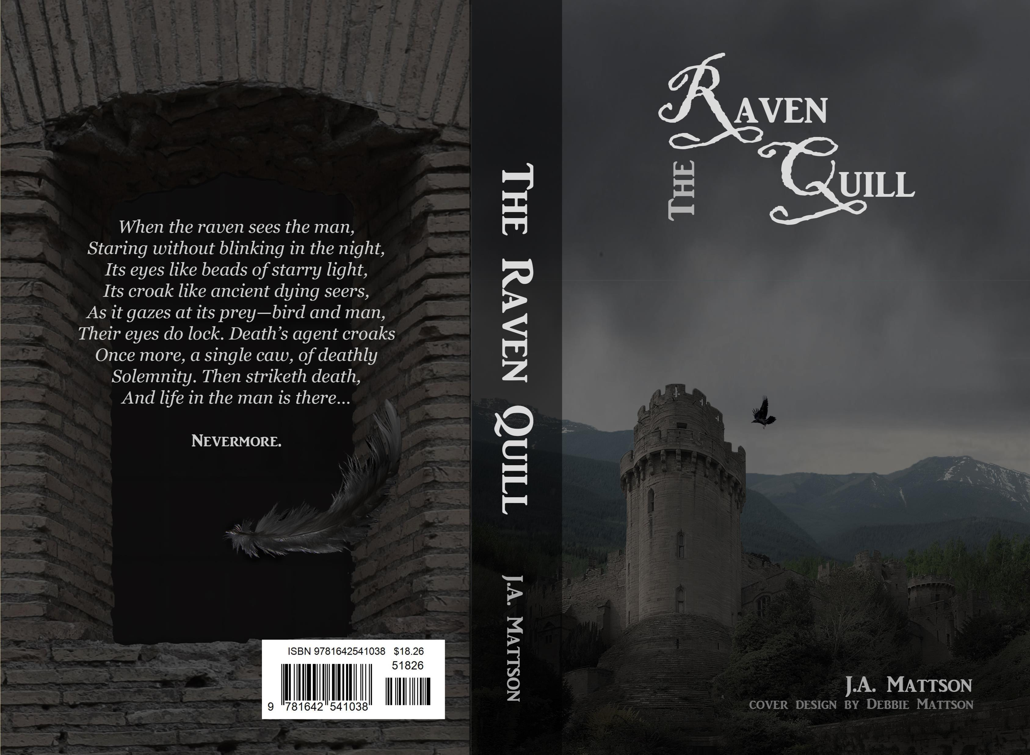 The Raven Quill: The Adventures of the Prince at the Monastery (Second Edition) cover image