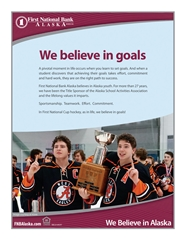 2017 ASAA First National Cup 4A Hockey State Championship Program cover image