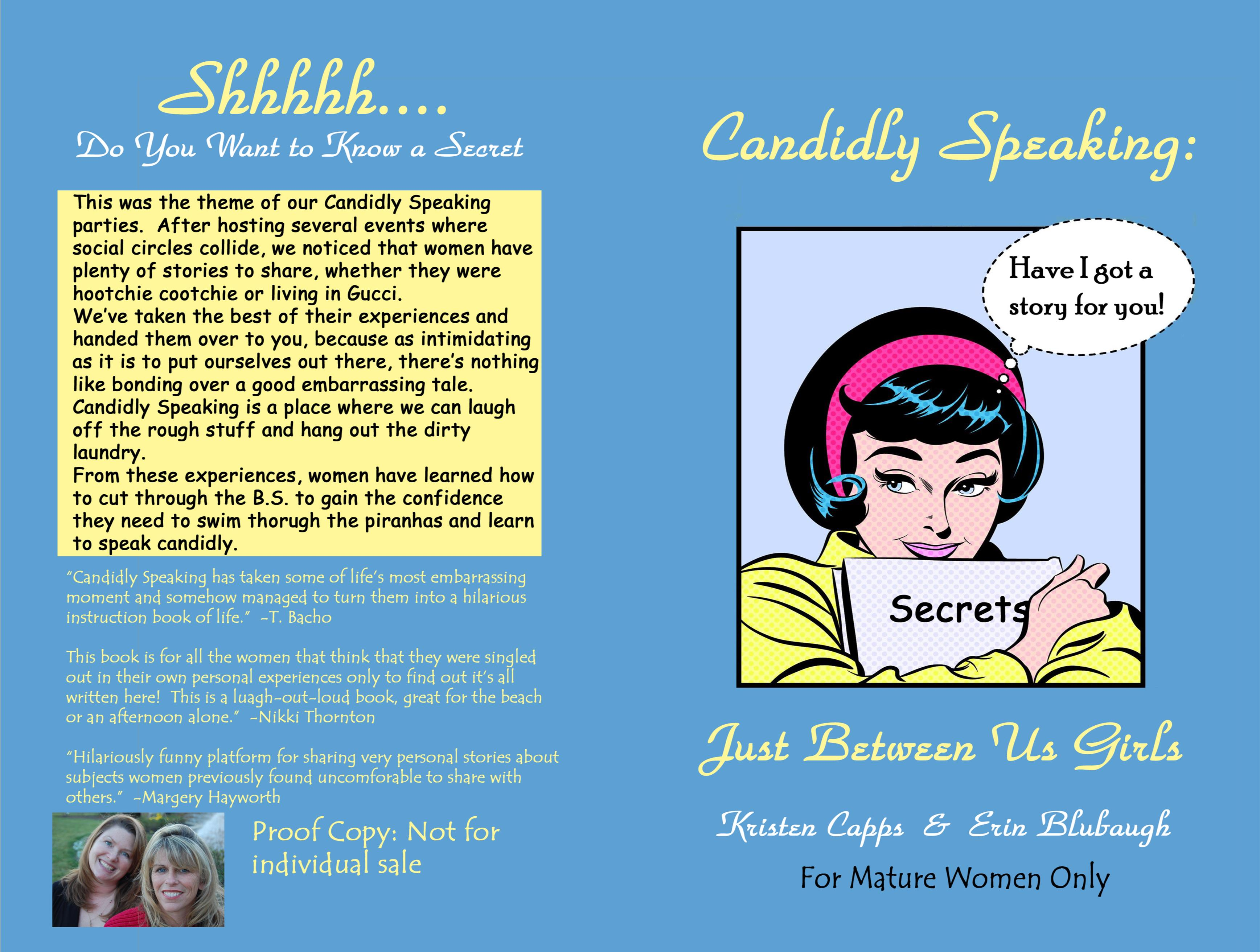 Candidly Speaking: Just Between Us Girls cover image