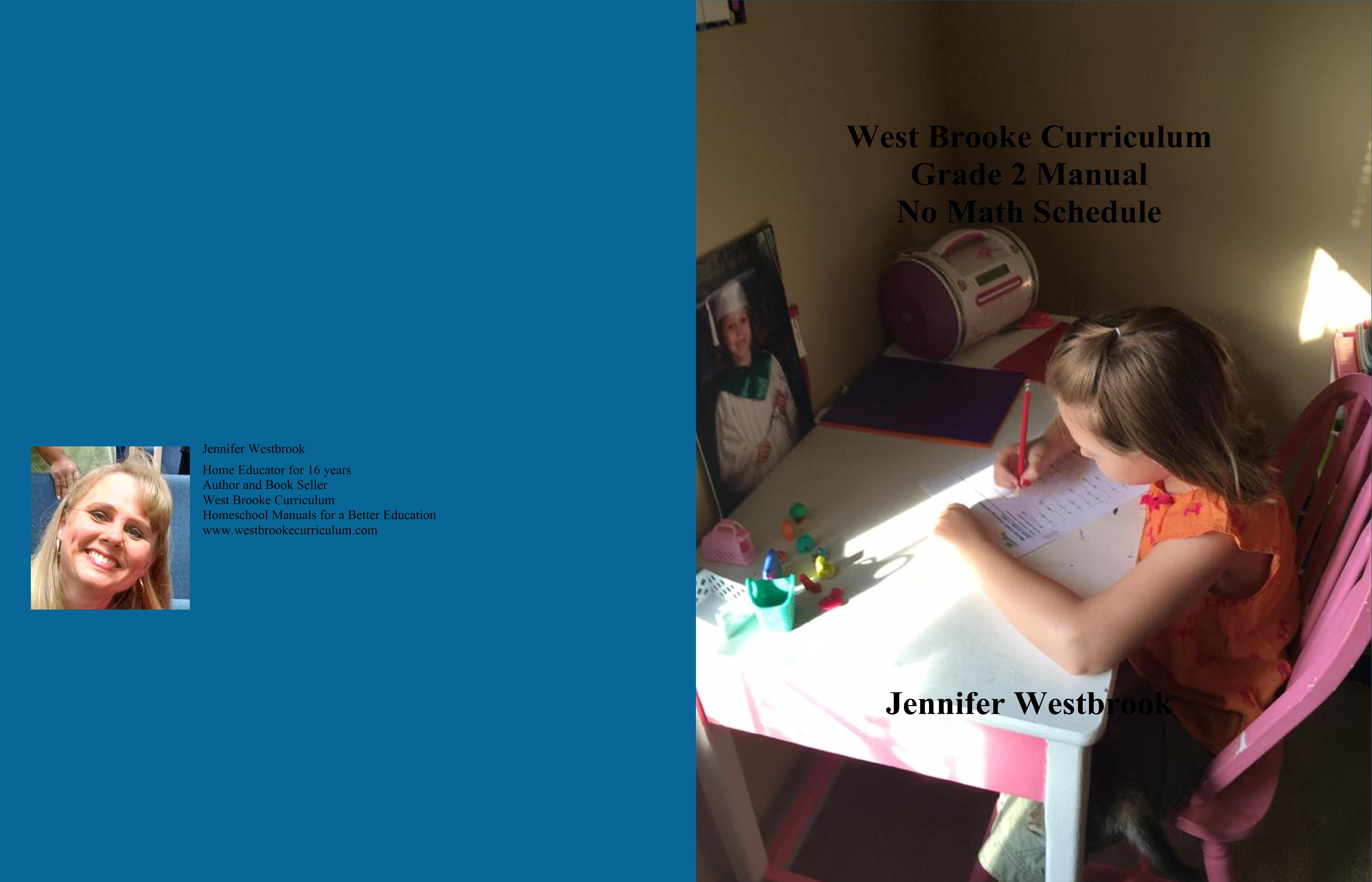 West Brooke Curriculum Grade 2 Manual No Math Schedule cover image
