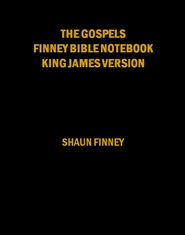 The Gospels Finney Bible Notebook cover image