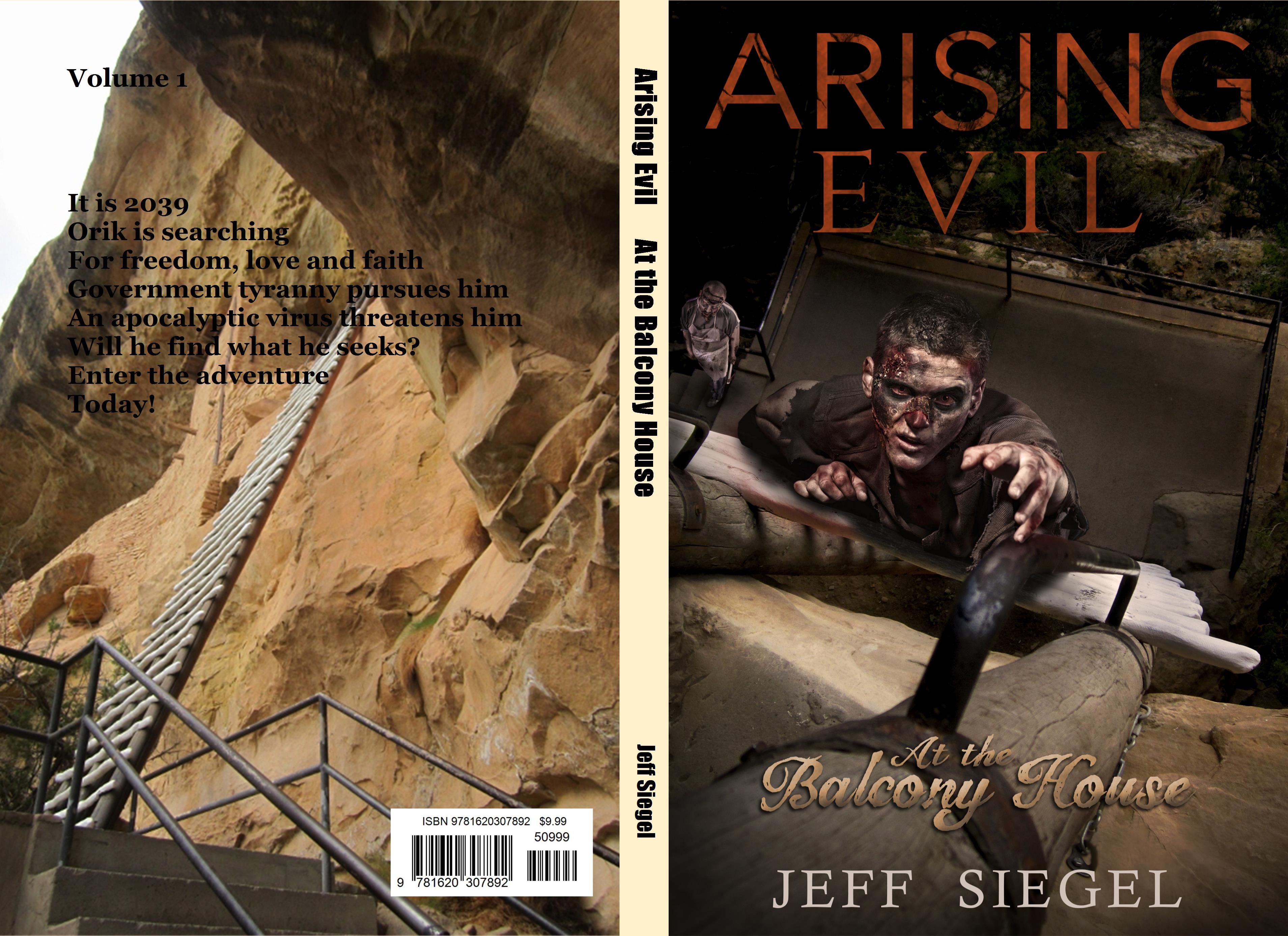 Arising evil at the balcony house by jeff siegel for The balcony book