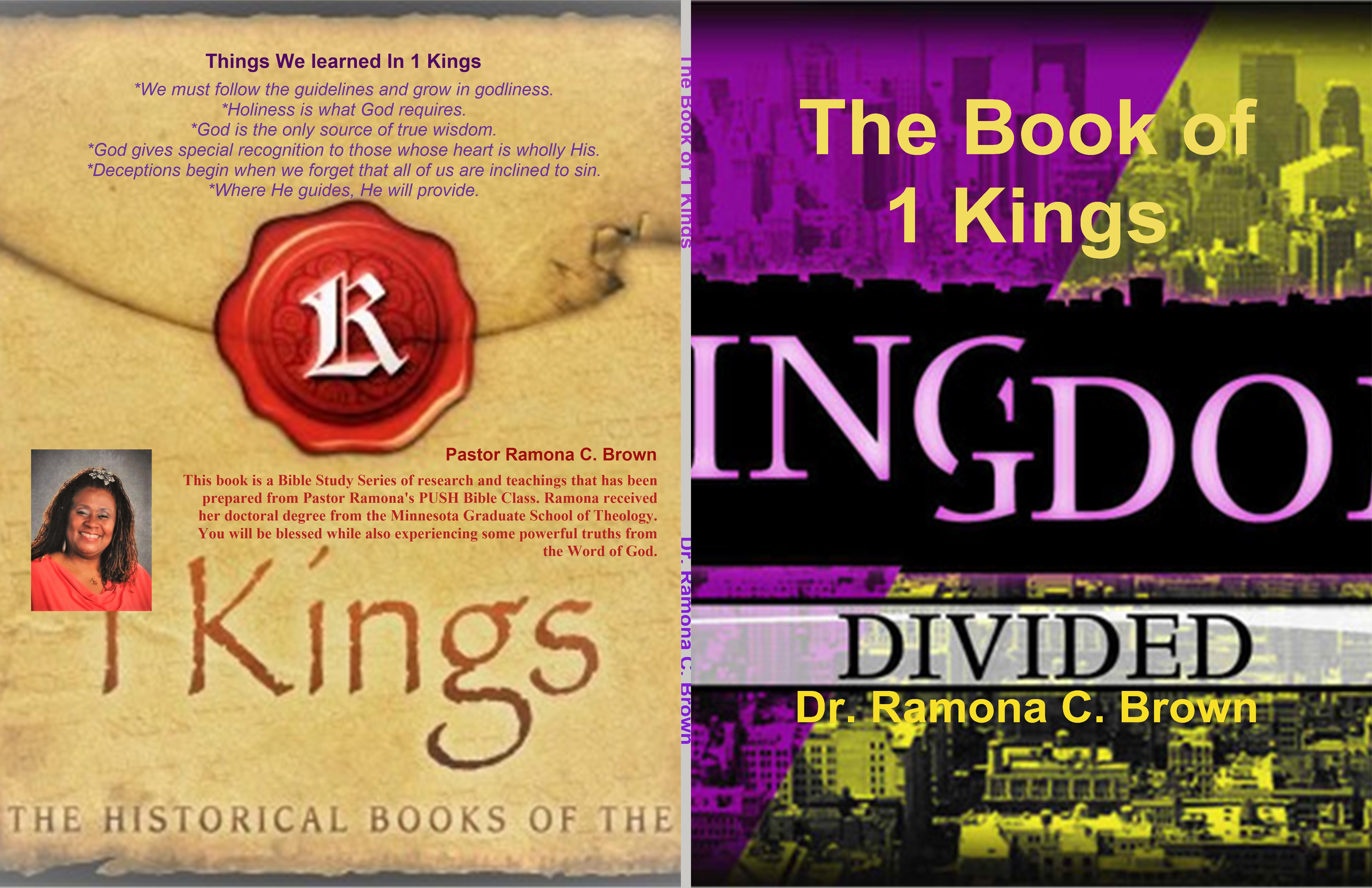 The Book of 1 Kings cover image