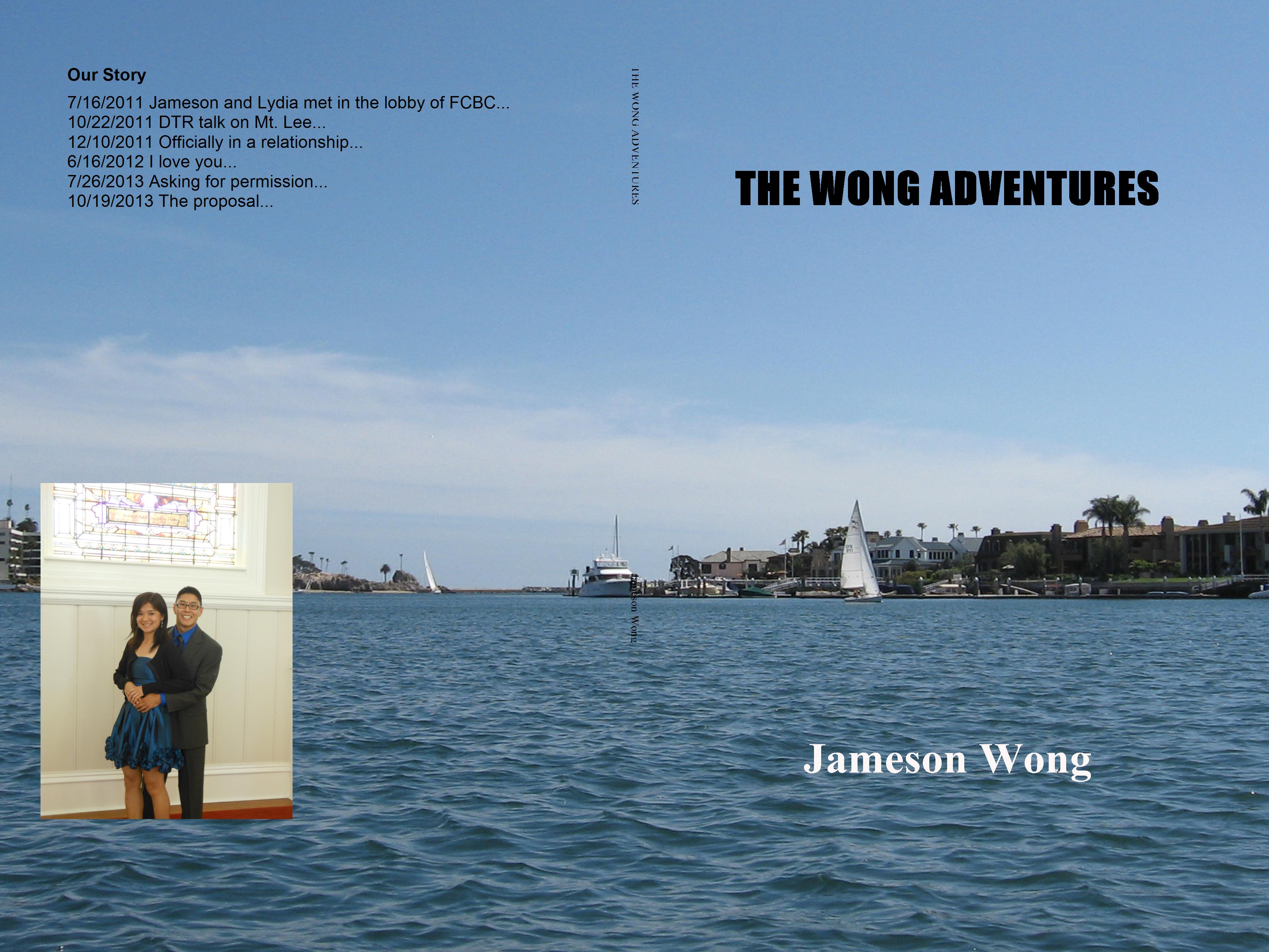 THE WONG ADVENTURES cover image