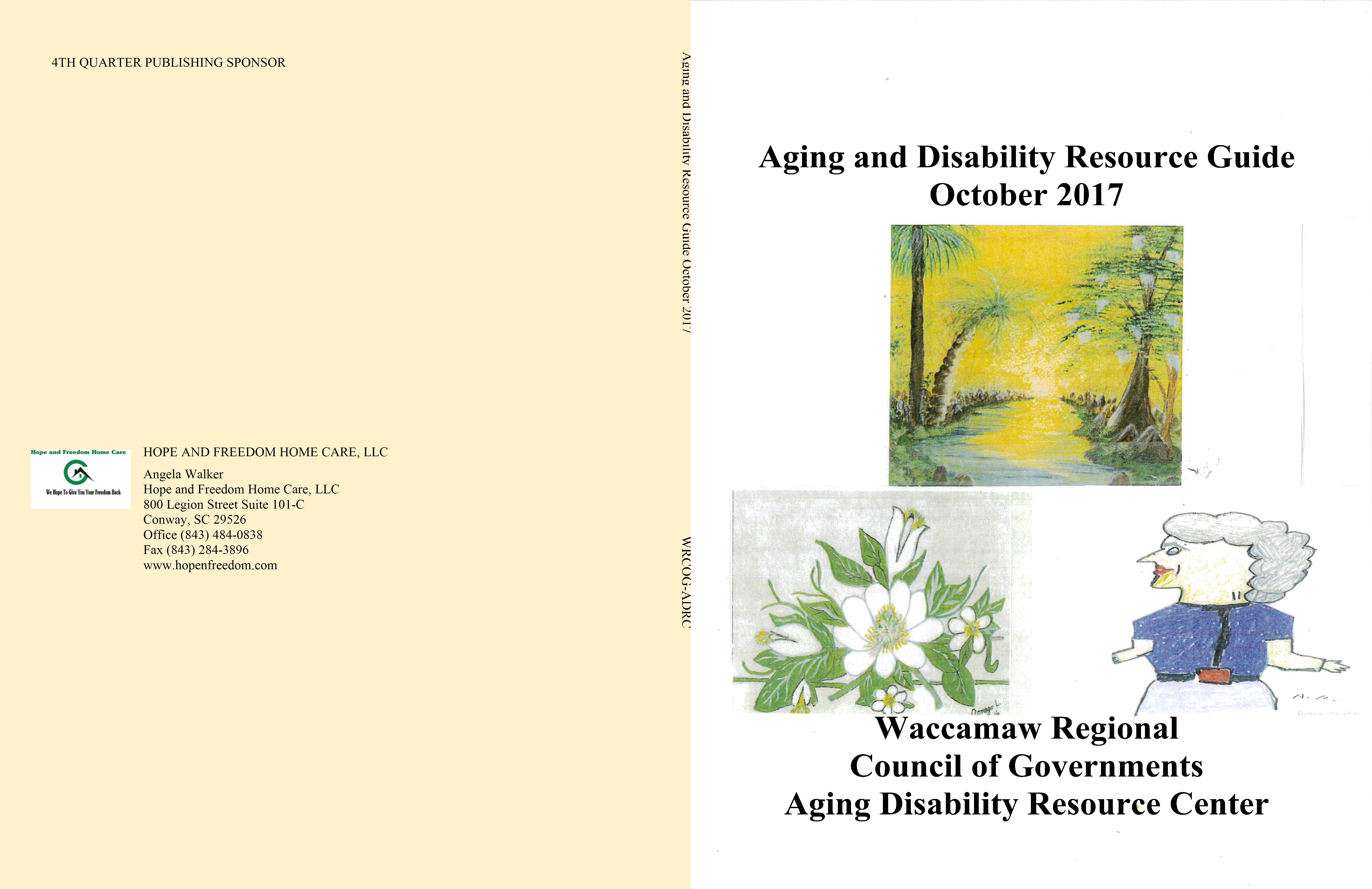 Aging and Disability Resource Guide October 2017 cover image