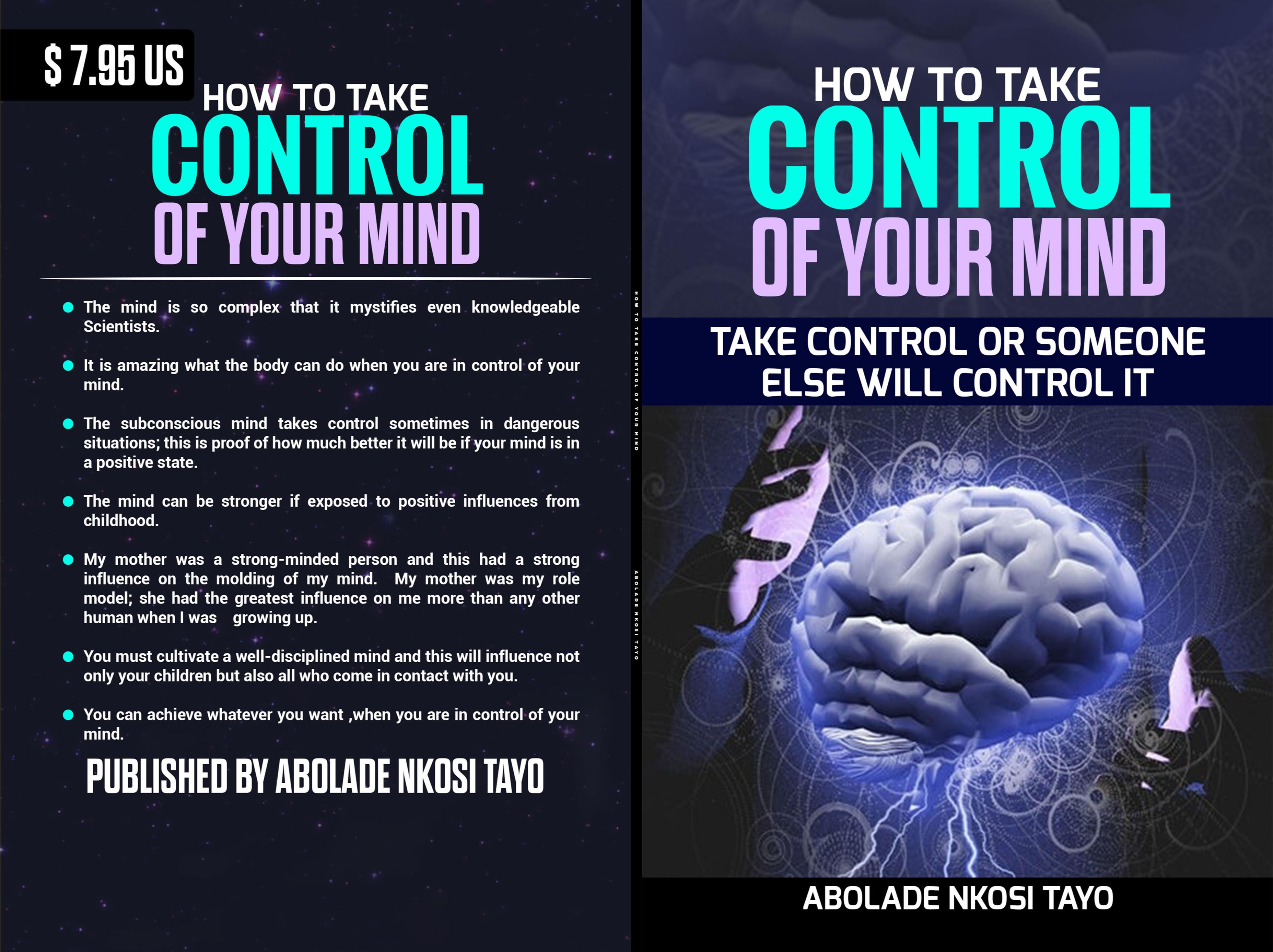 HOW TO TAKE CONTROL OF YOUR MIND cover image