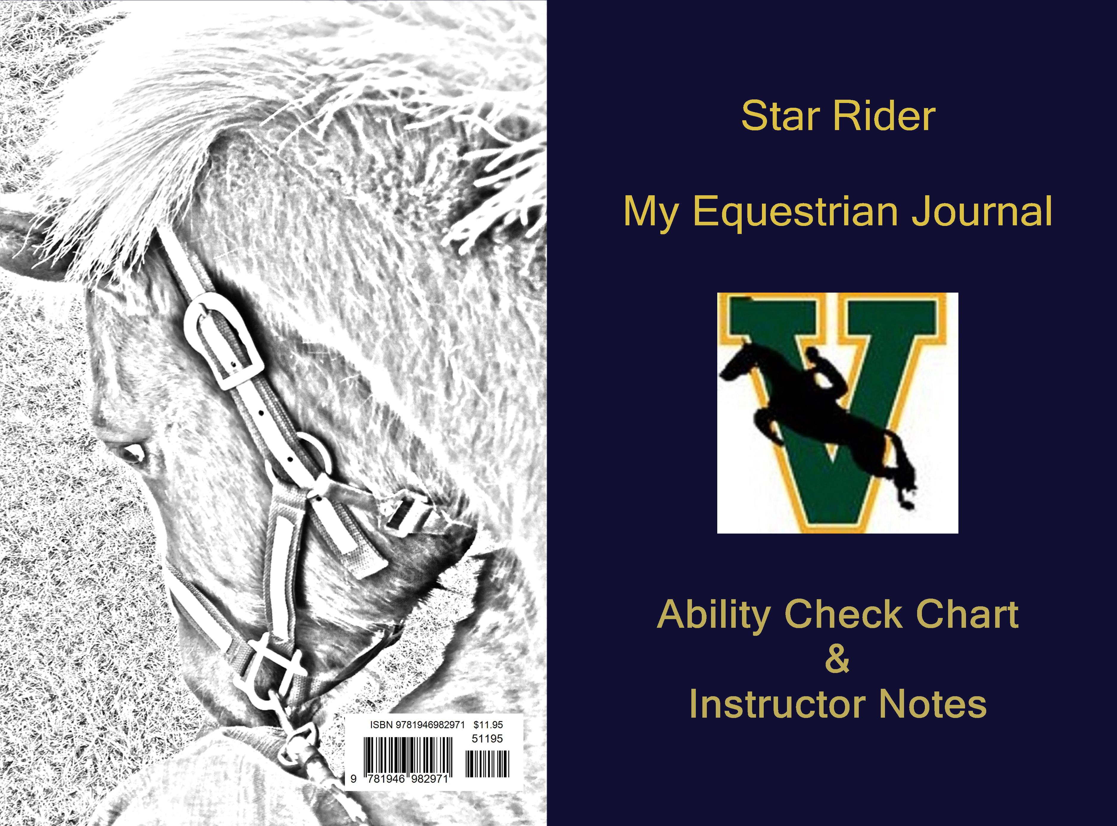 Star Rider My Equestrian Journal cover image