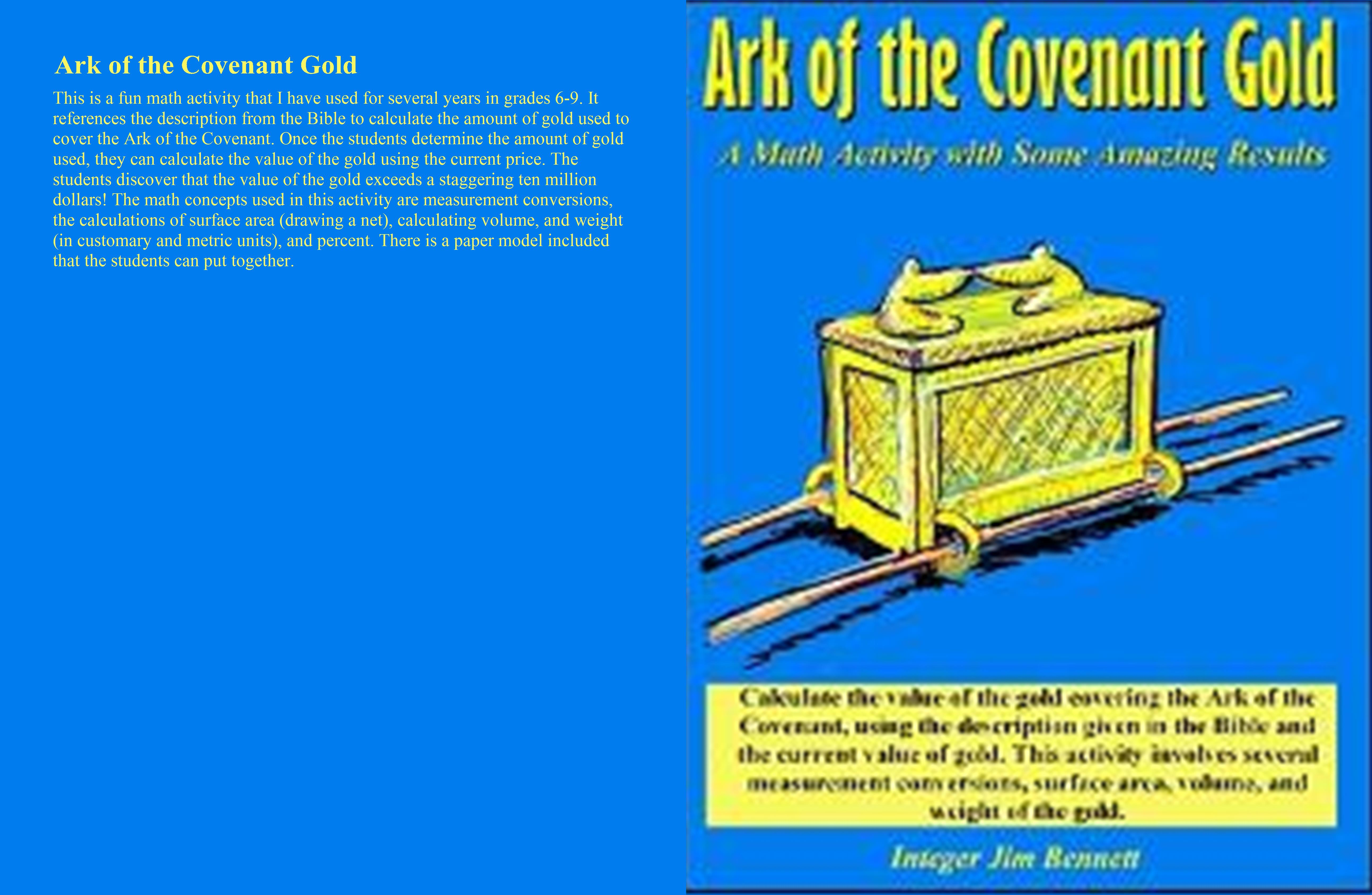 Ark of the Covenant Gold cover image