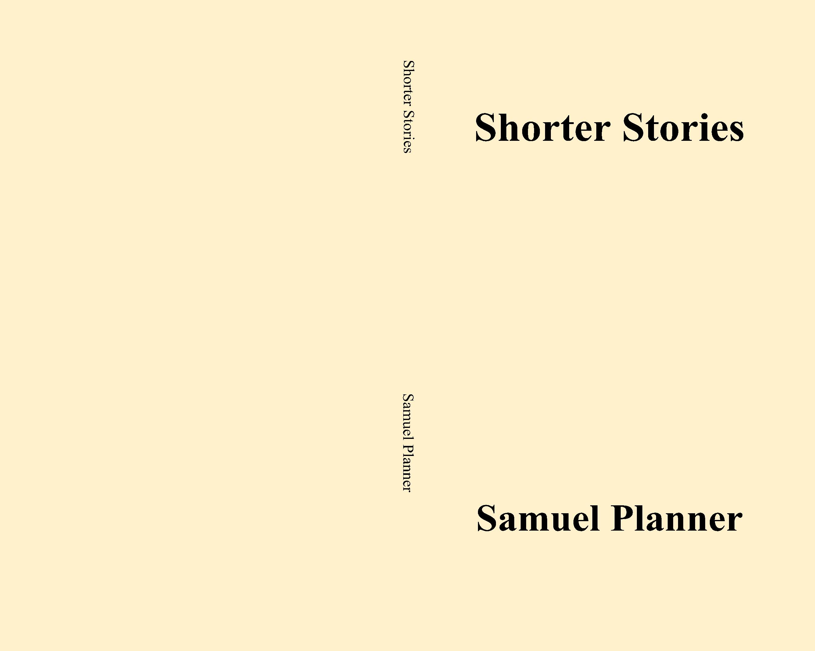 Shorter Stories cover image