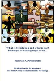What is Meditation and What is not? cover image