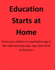 Education Starts at Home cover image