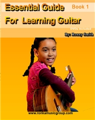 Essential Guide For Learning Guitar cover image