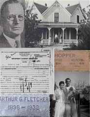 Travels Through Time. The story of Edward and Lucinda Fletcher and their families cover image