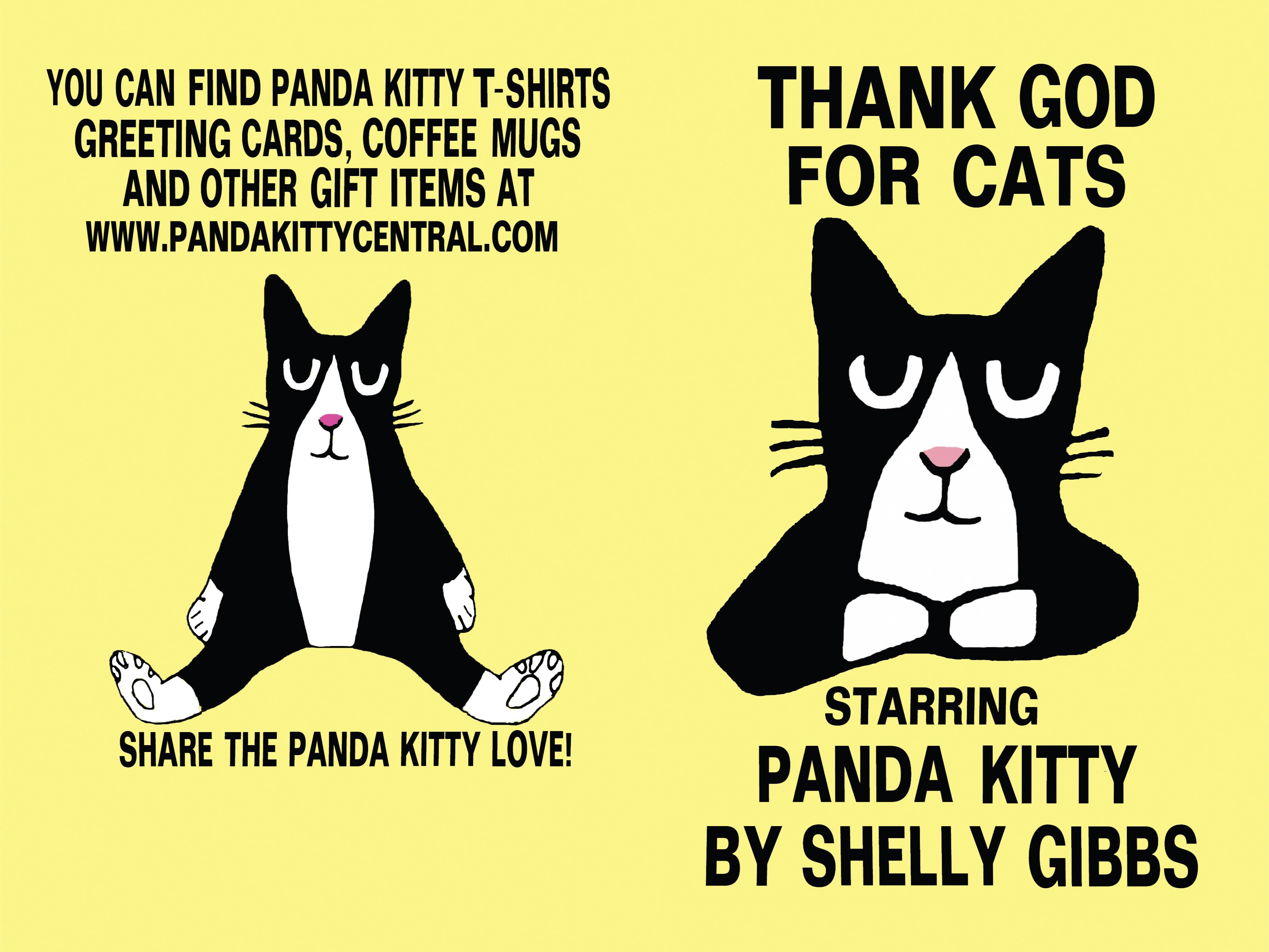 THANK GOD FOR CATS, Starring Panda Kitty cover image