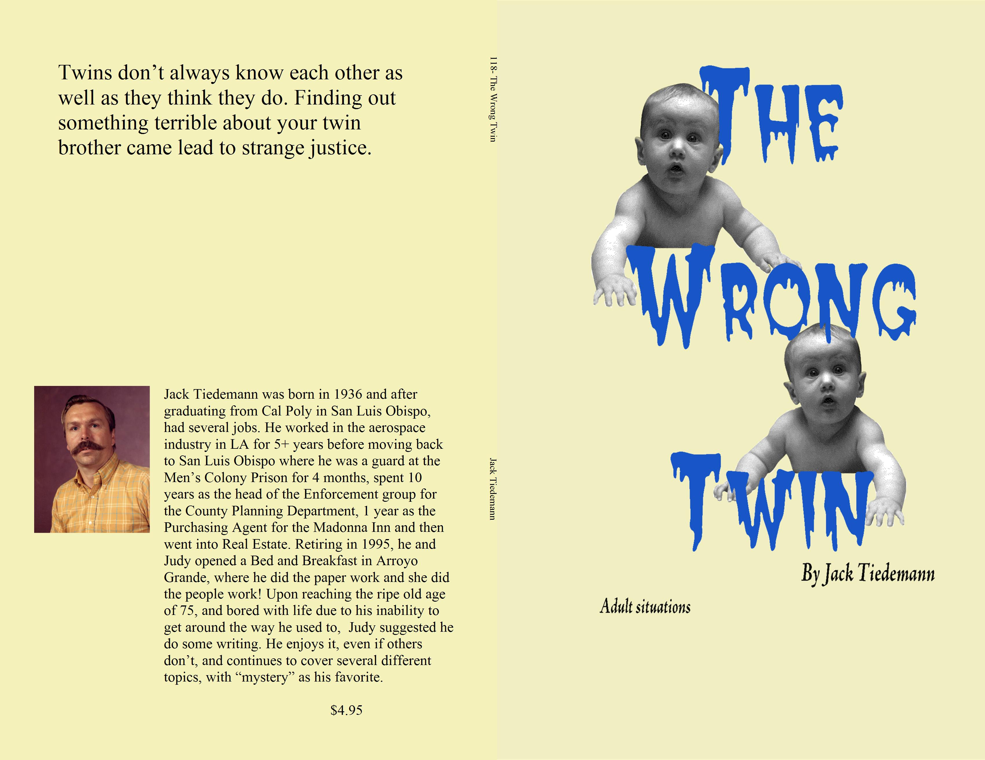118- The Wrong Twin cover image